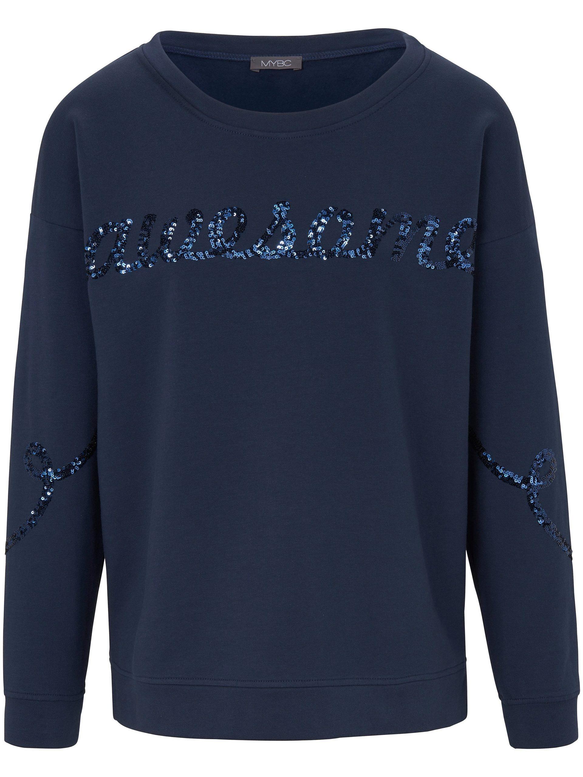 Sweatshirt Van MYBC blauw Kopen