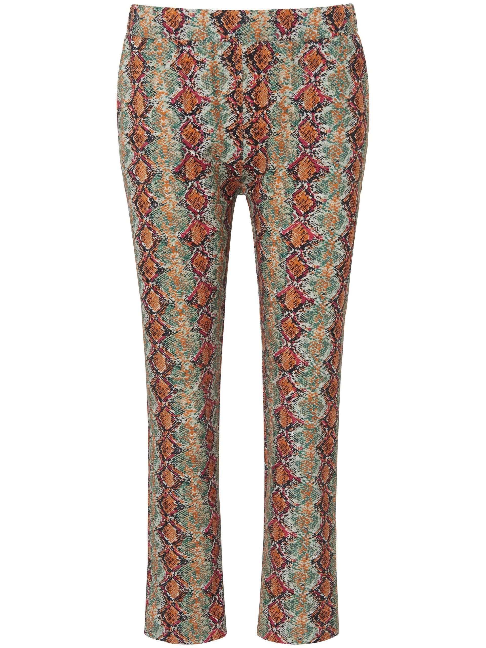 7/8-broek met rechte pijpen Van MYBC multicolour Kopen