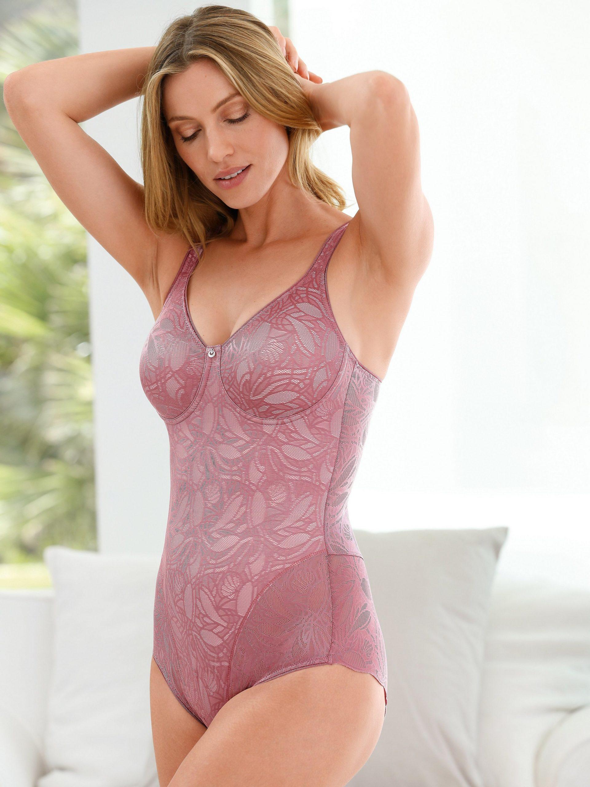 Modellerende body Ballina zonder beugels Van Susa roze Kopen