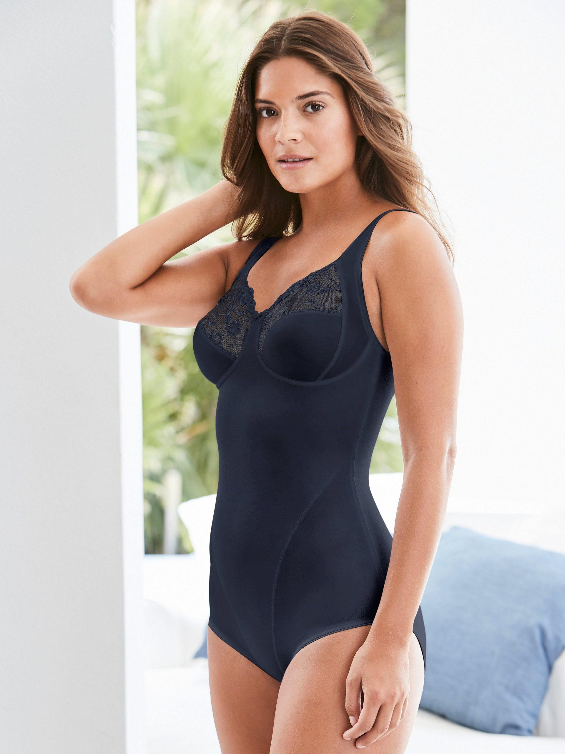 Modellerende body model Moments Van Felina blauw Kopen