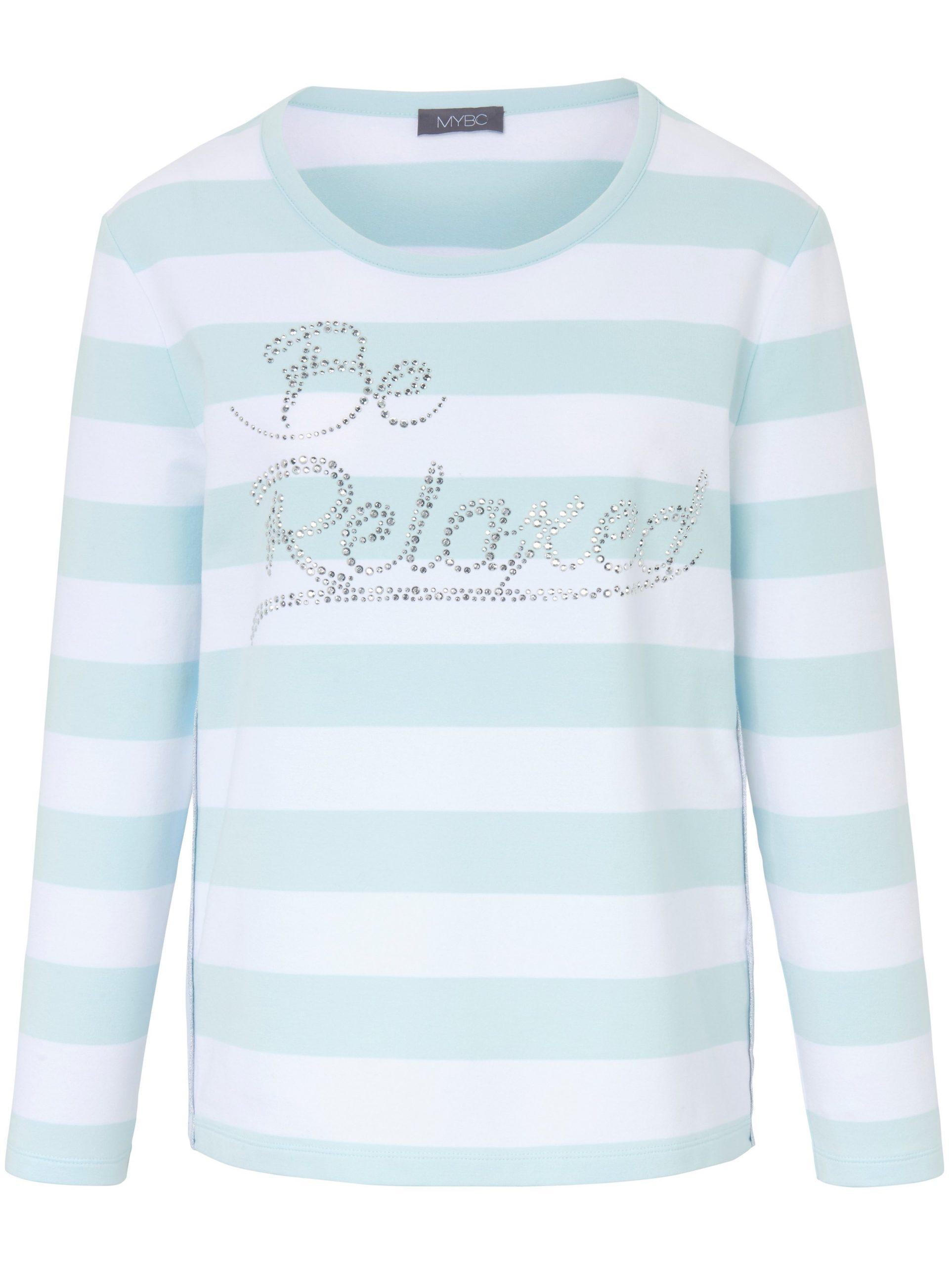 Sweatshirt met lange mouwen en ronde hals Van MYBC multicolour Kopen
