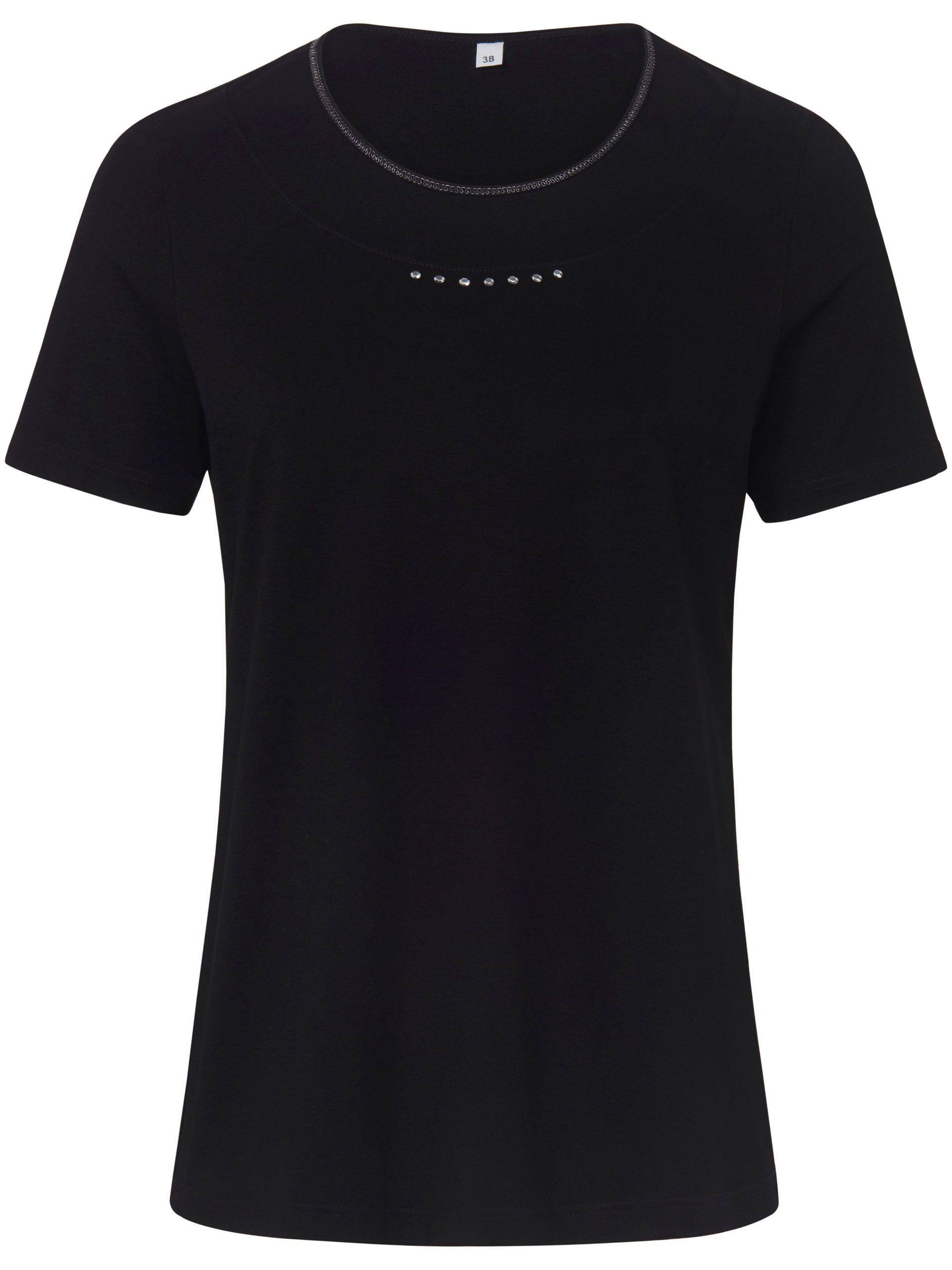 Shirt met ronde hals en korte mouwen Van MYBC beige Kopen