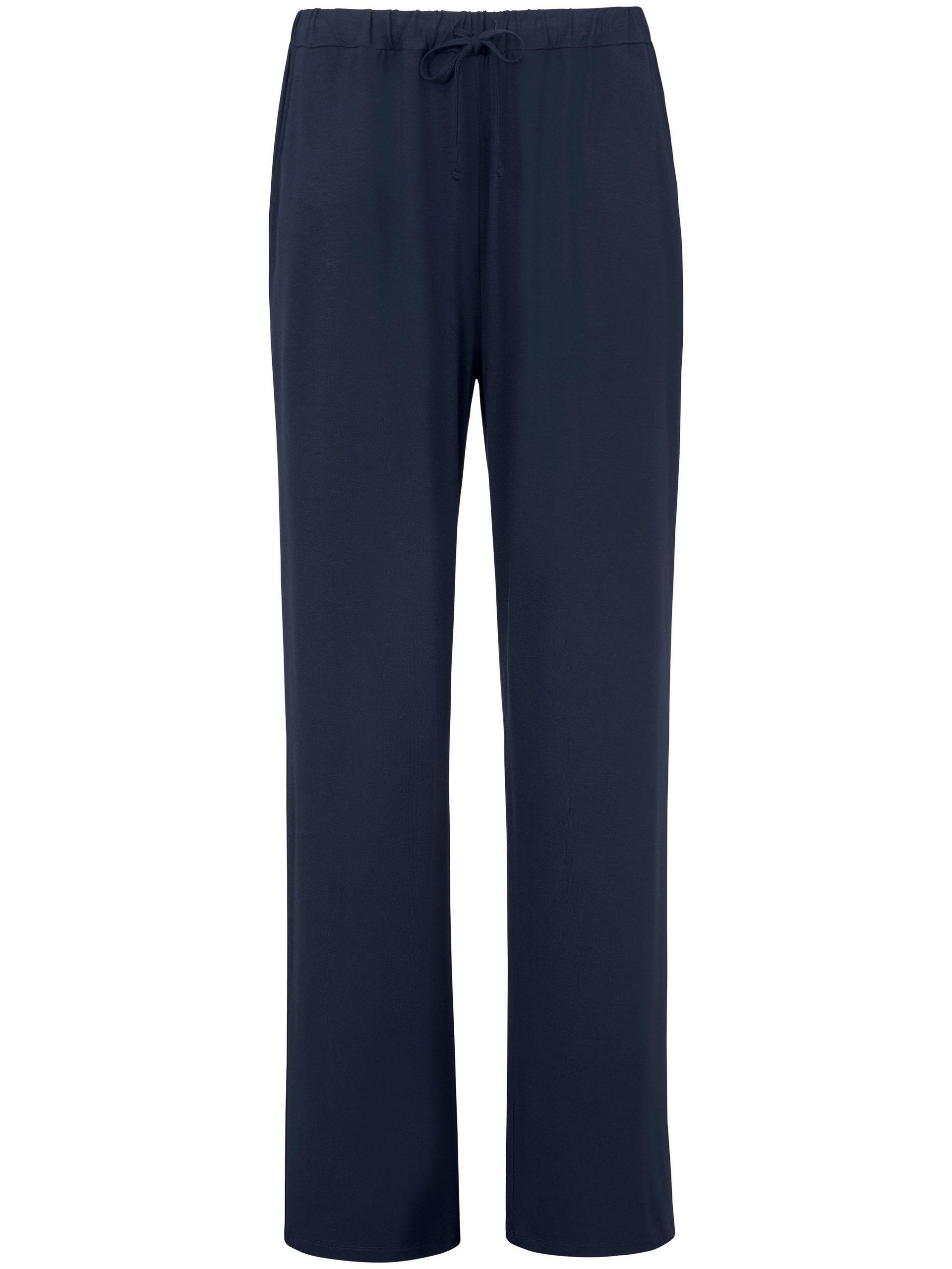 Lange broek Van Peter Hahn blauw Kopen