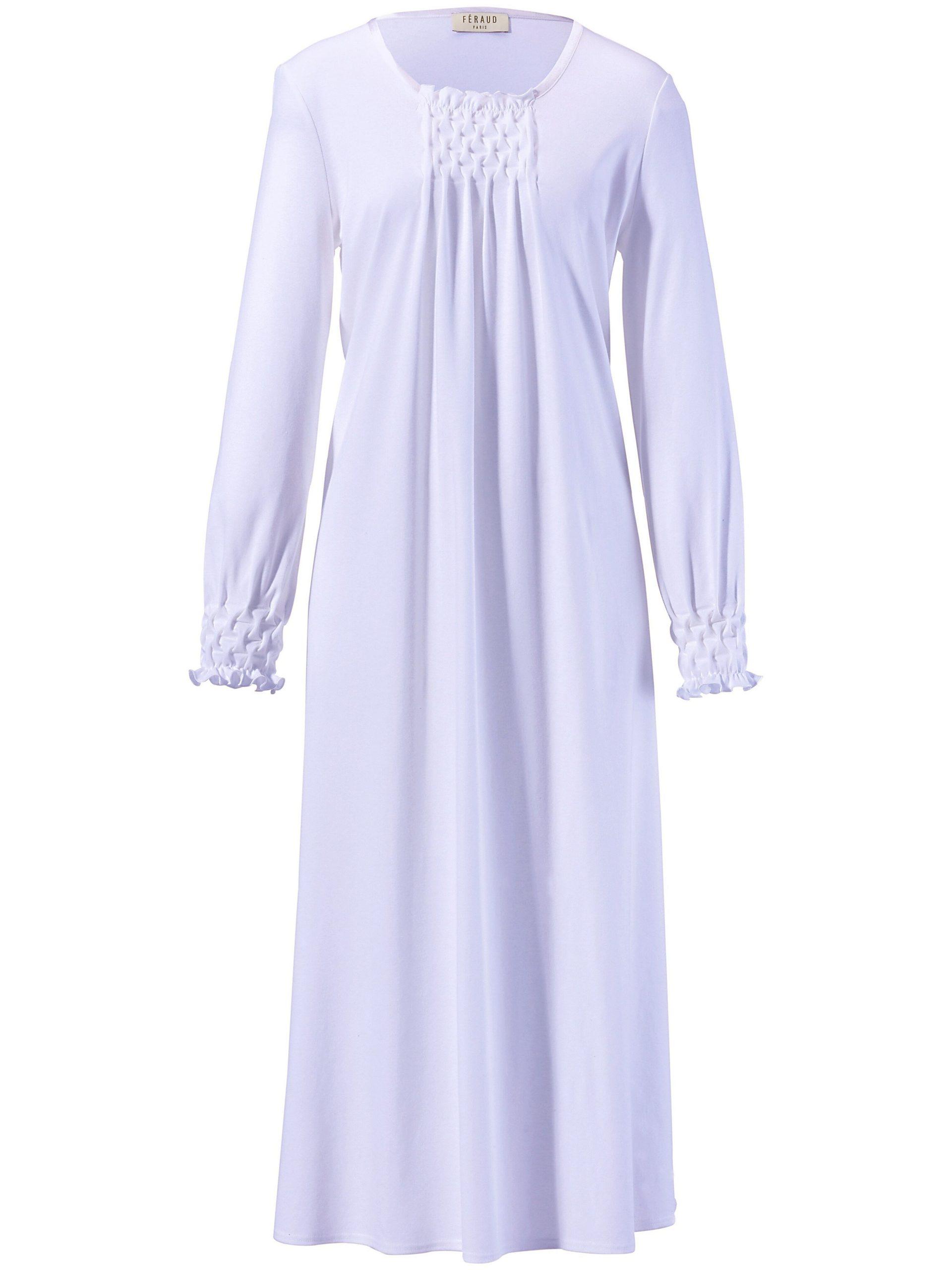 Nachthemd met lange mouwen Van Féraud paars Kopen