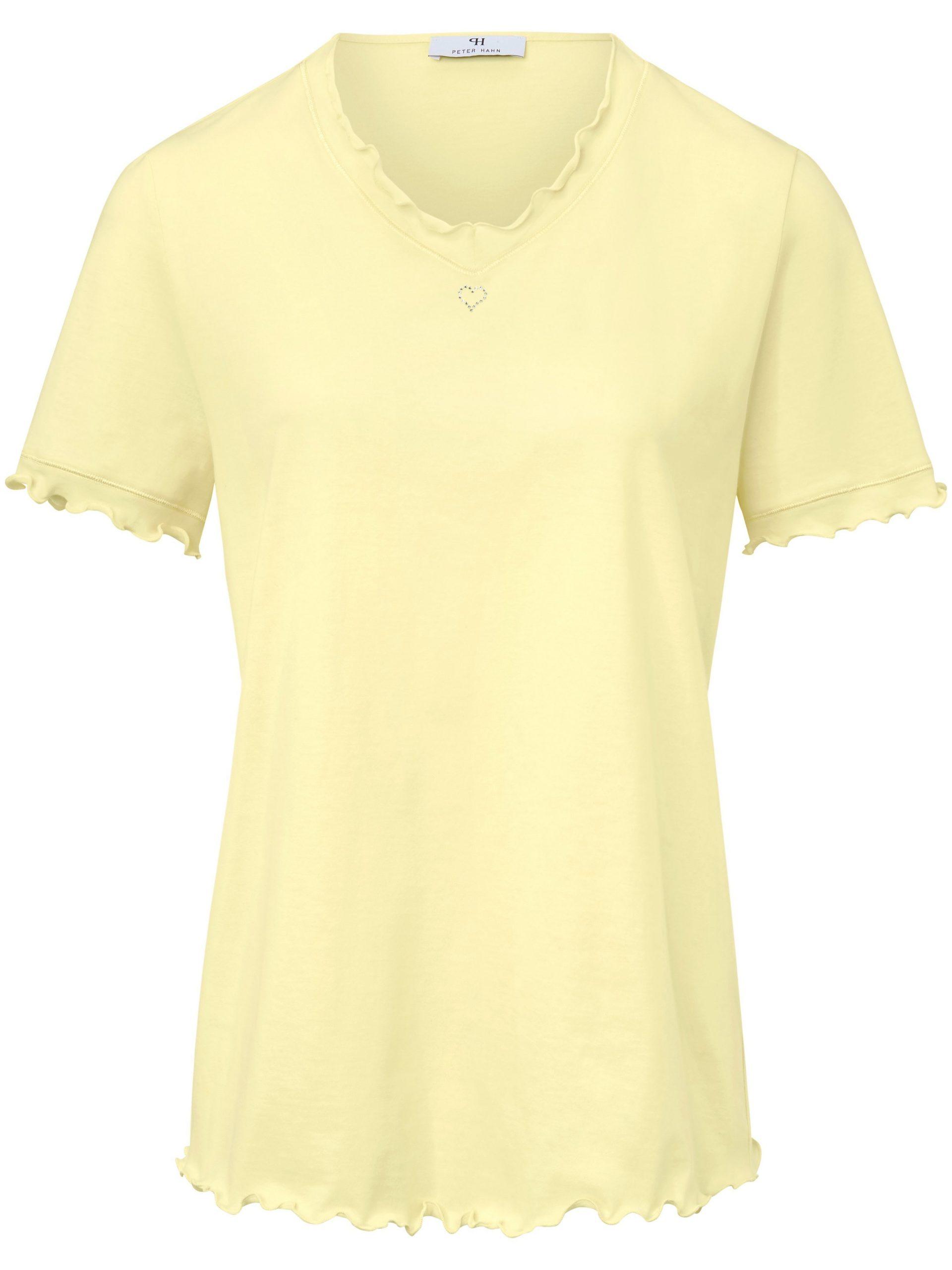 Pyjama van 100% katoen Van Peter Hahn geel Kopen