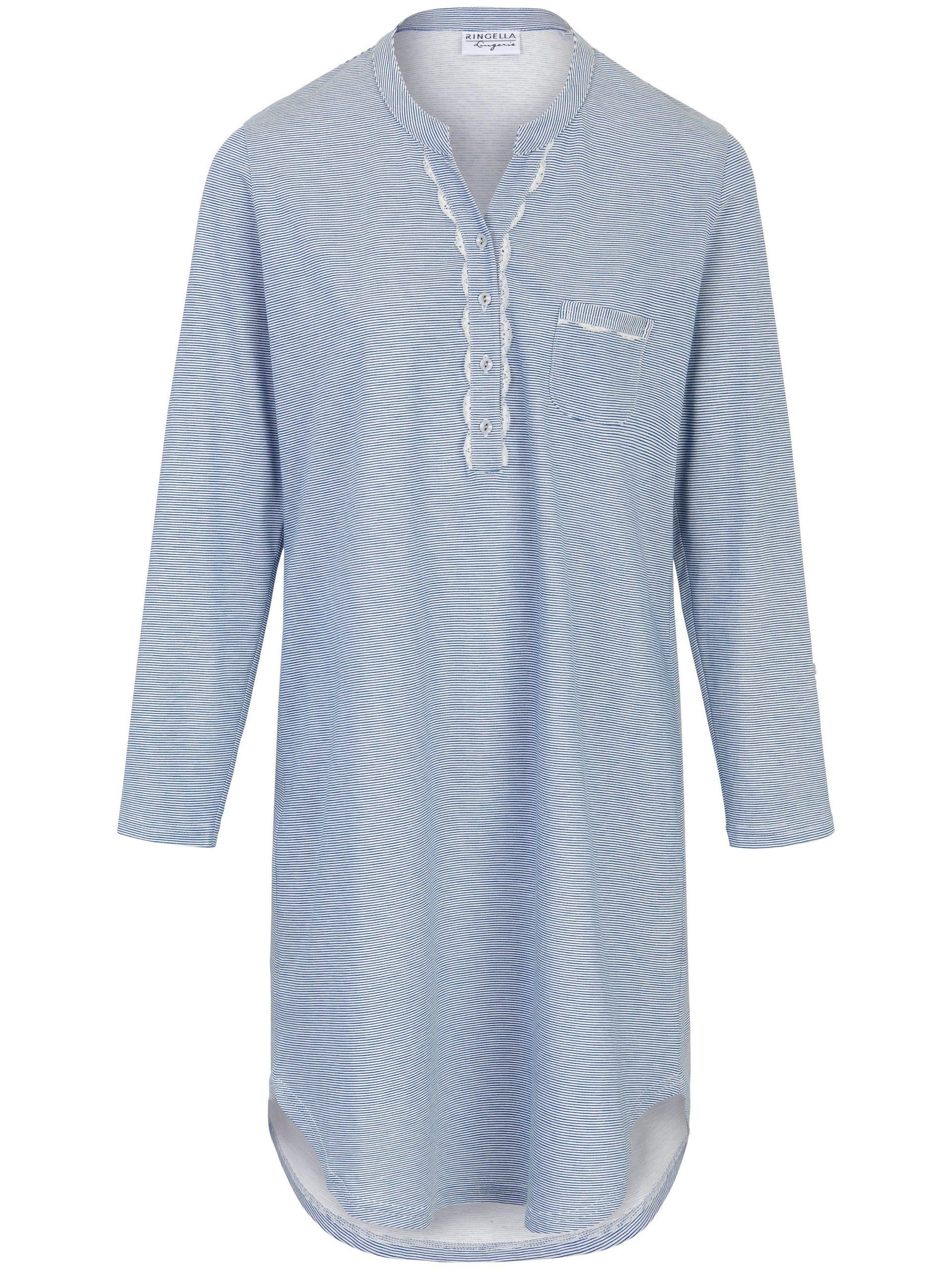 Nachthemd van 100% katoen met lange mouwen Van Ringella multicolour Kopen