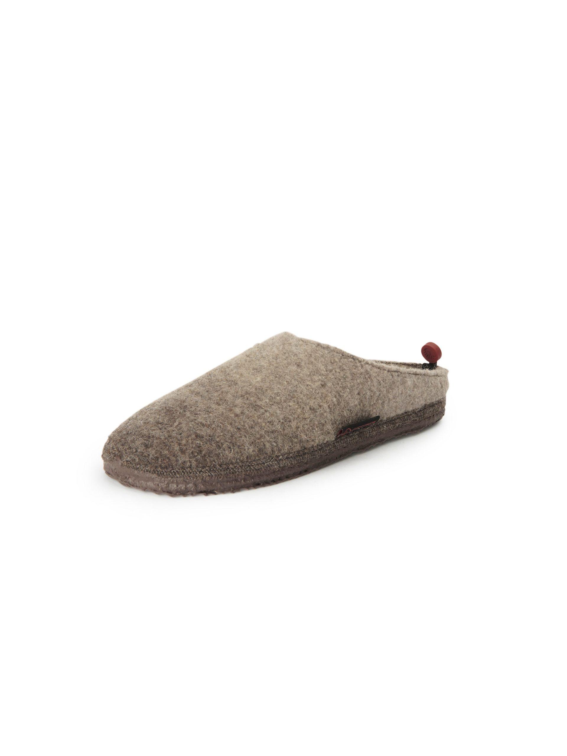 Pantoffels, model Naurath Van Giesswein beige Kopen