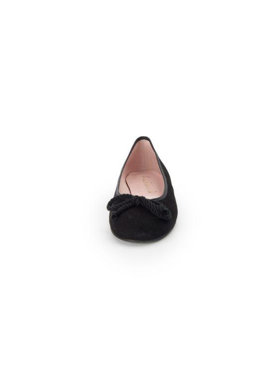 Ballerina's van geitensuèdeleer Van Pretty Ballerinas zwart Kopen