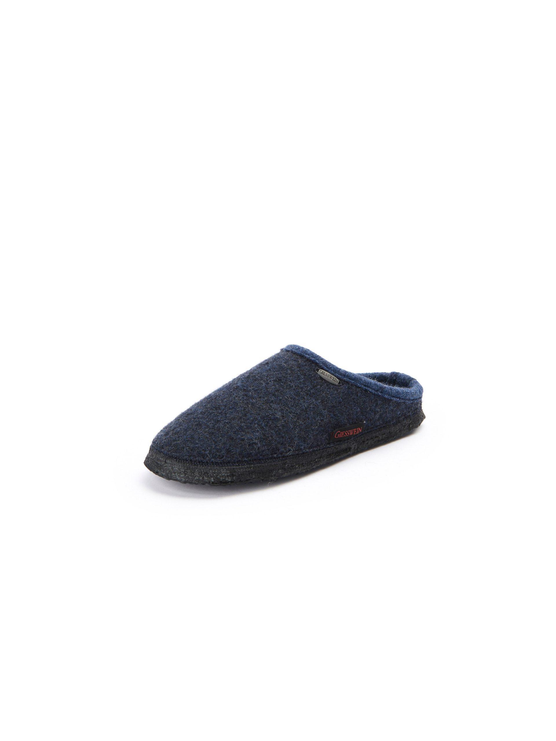 Pantoffels, model Dannheim Van Giesswein blauw Kopen