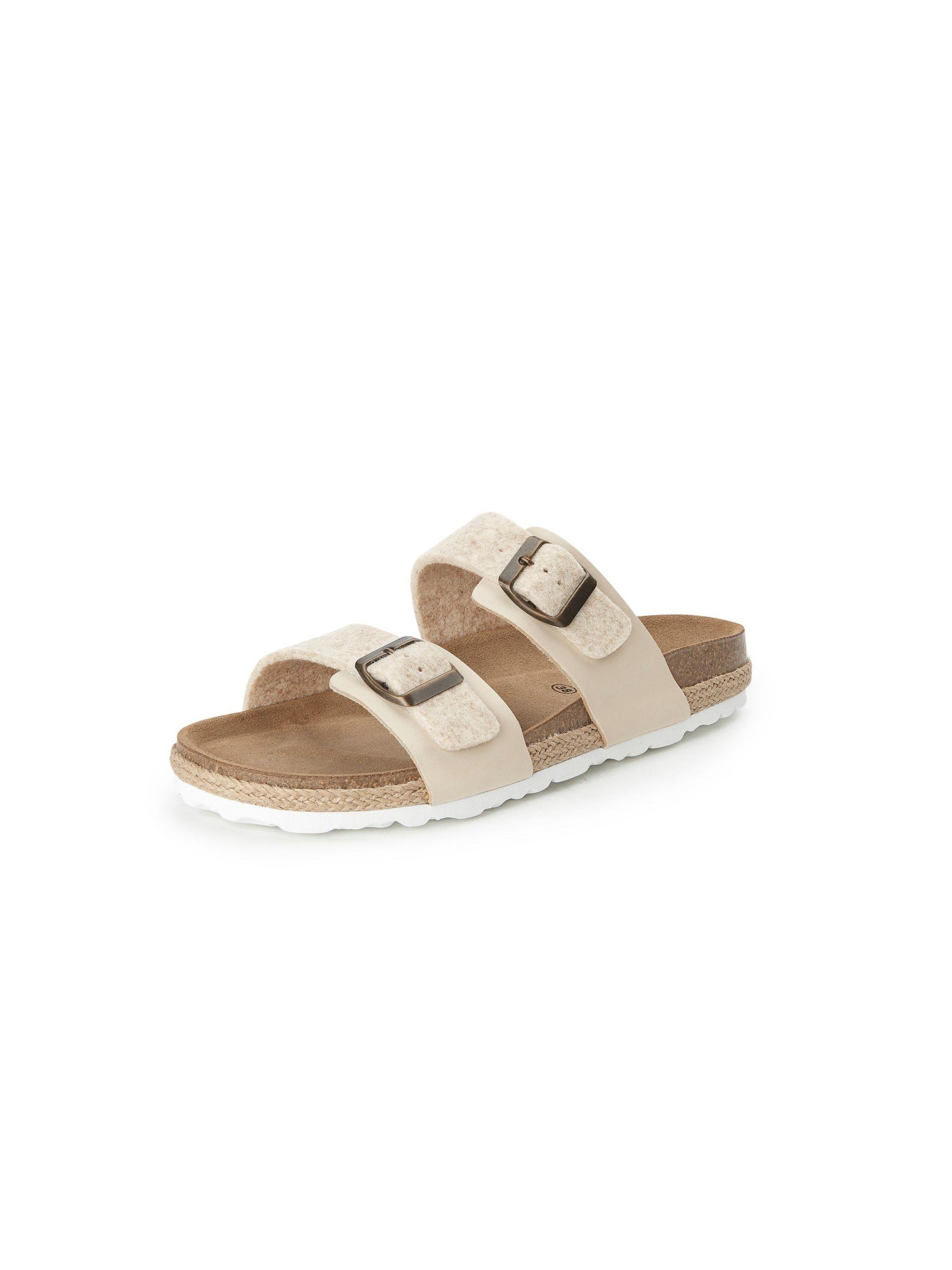 Slippers model Kicki Van Shepherd beige Kopen