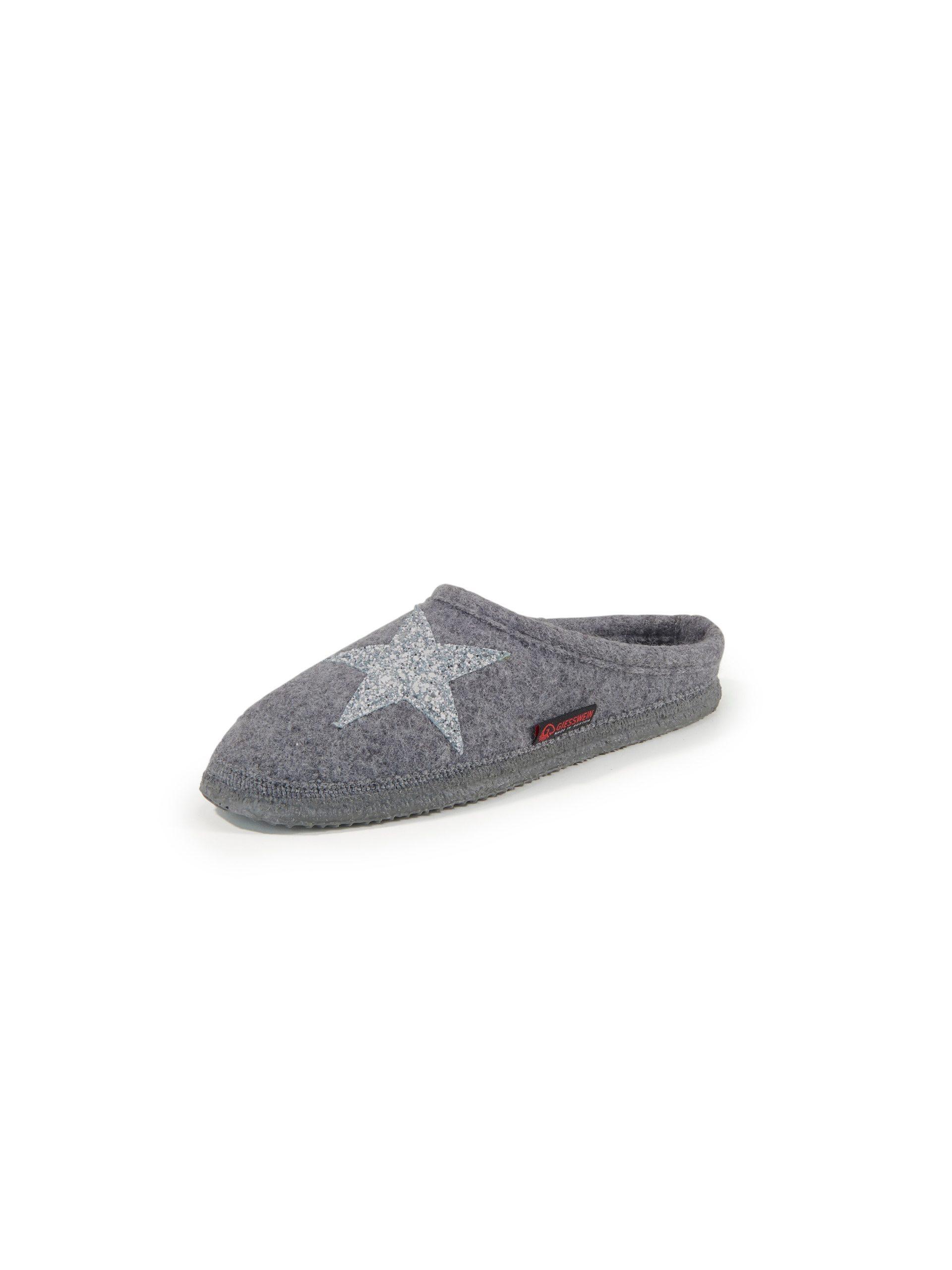 Pantoffels Coby Van Giesswein grijs Kopen