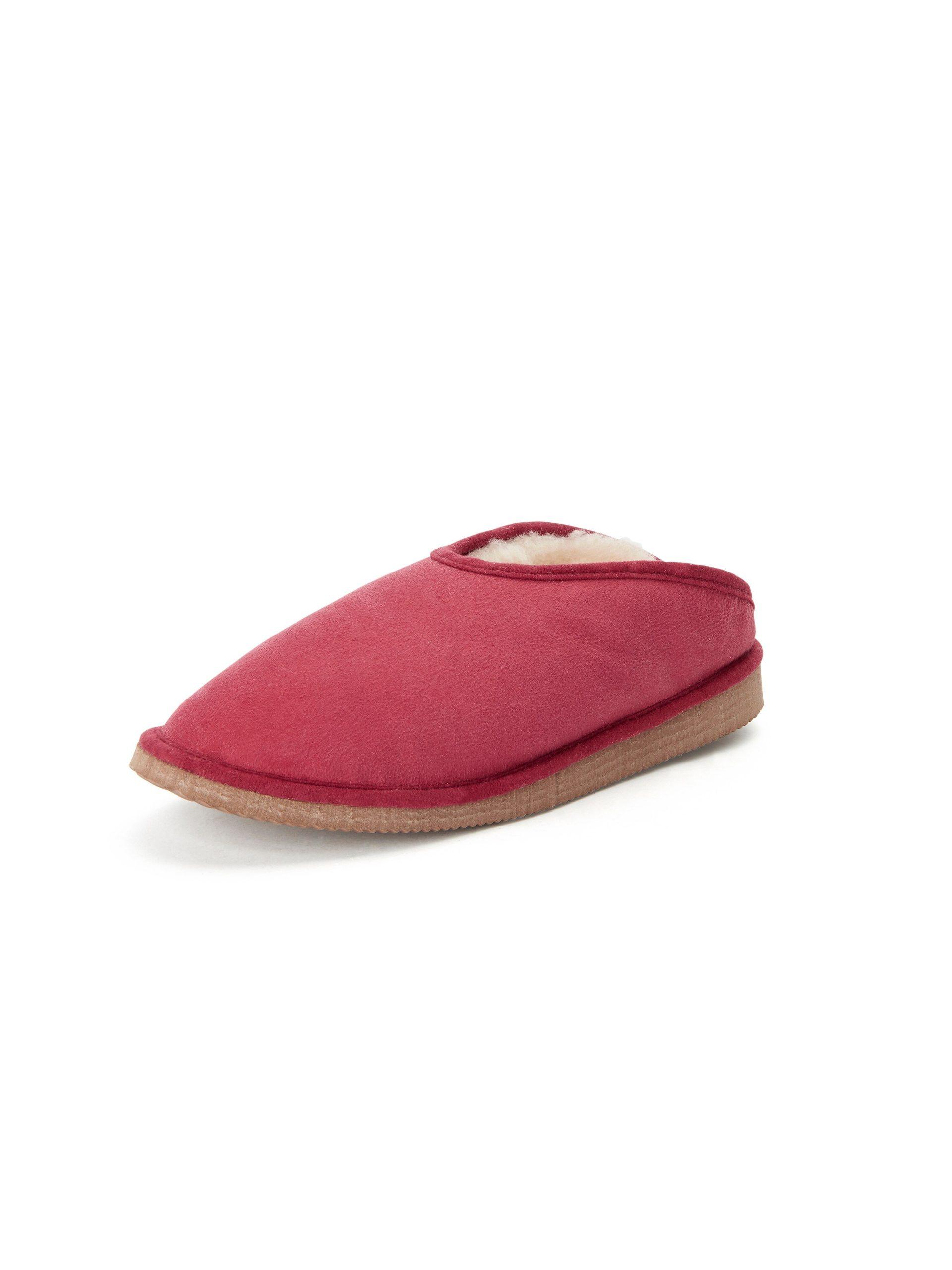 Lammy pantoffels, model Fatima Van Kitzpichler rood Kopen