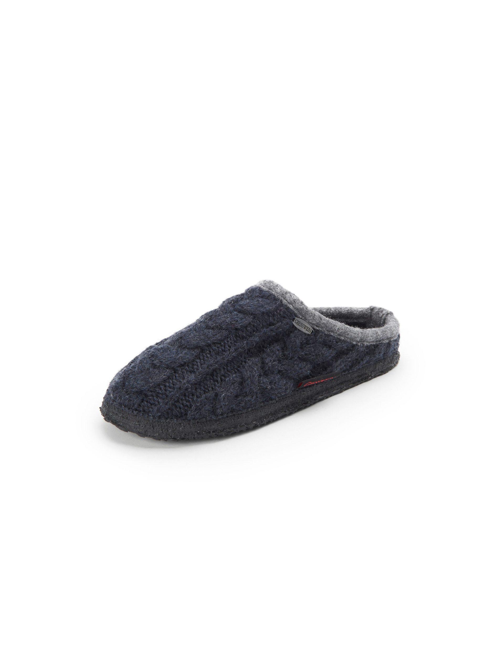 Pantoffels Van Giesswein blauw Kopen