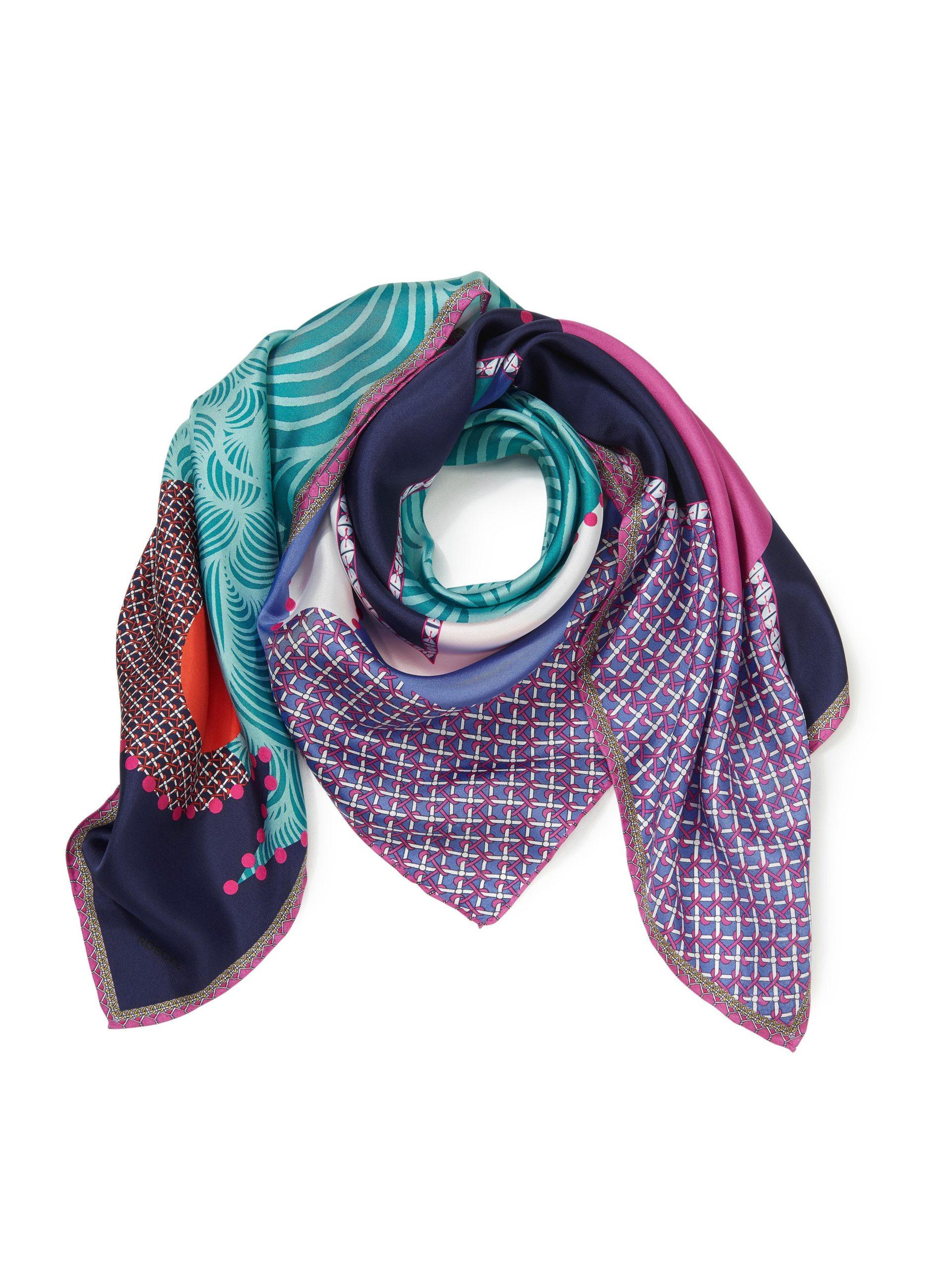 Sjaal van 100% zijde Van Roeckl multicolour Kopen