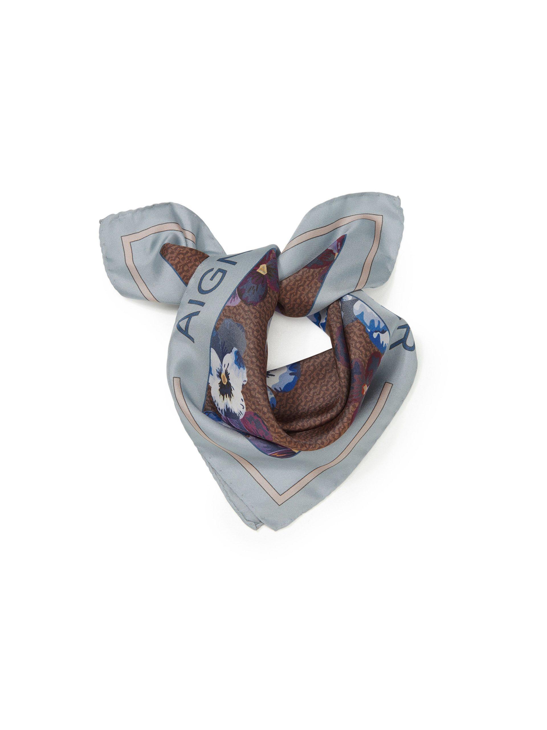 Sjaal van 100% zijde Van Aigner grijs Kopen
