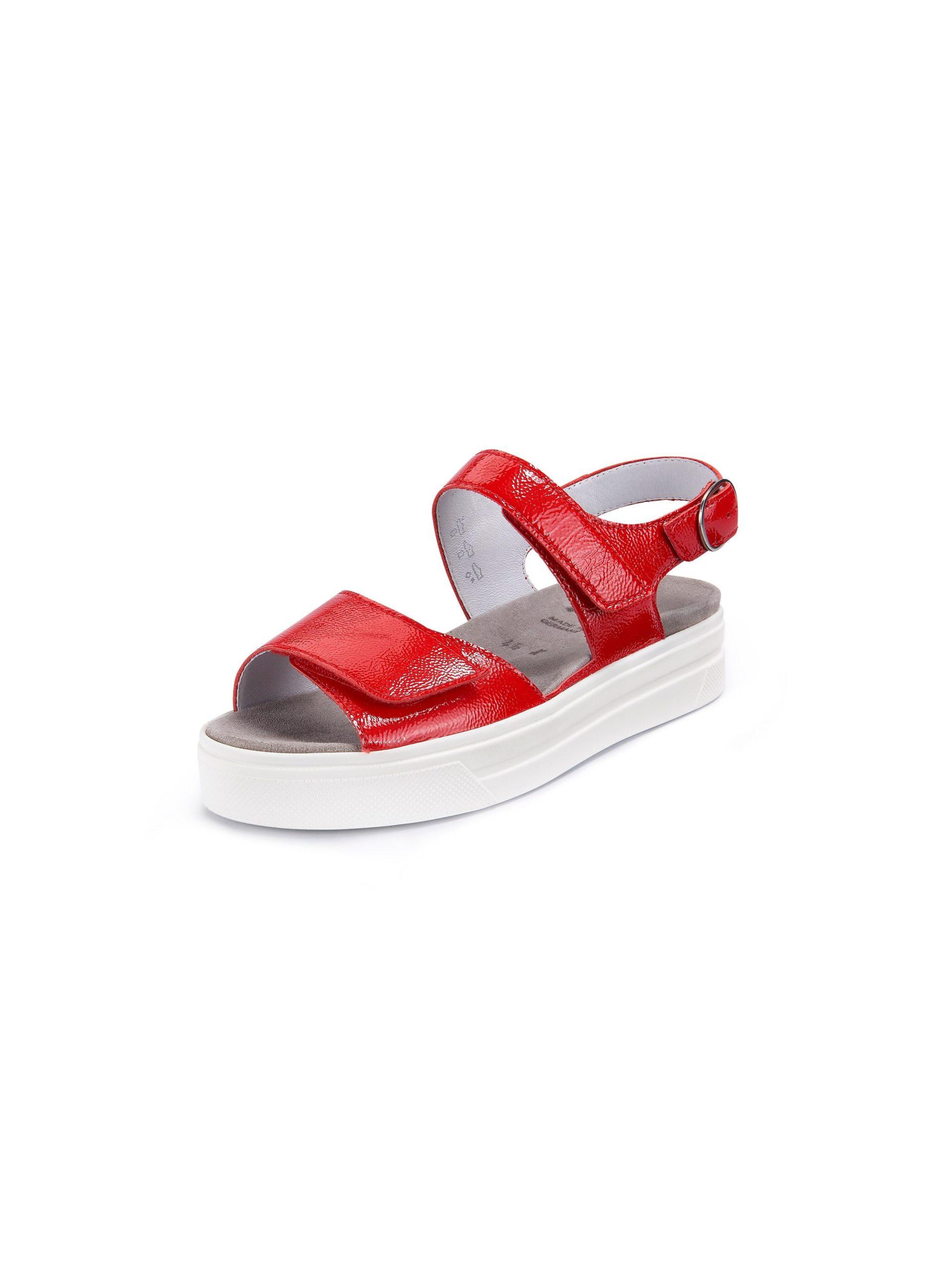 Plateau-sandalen Van Semler rood Kopen
