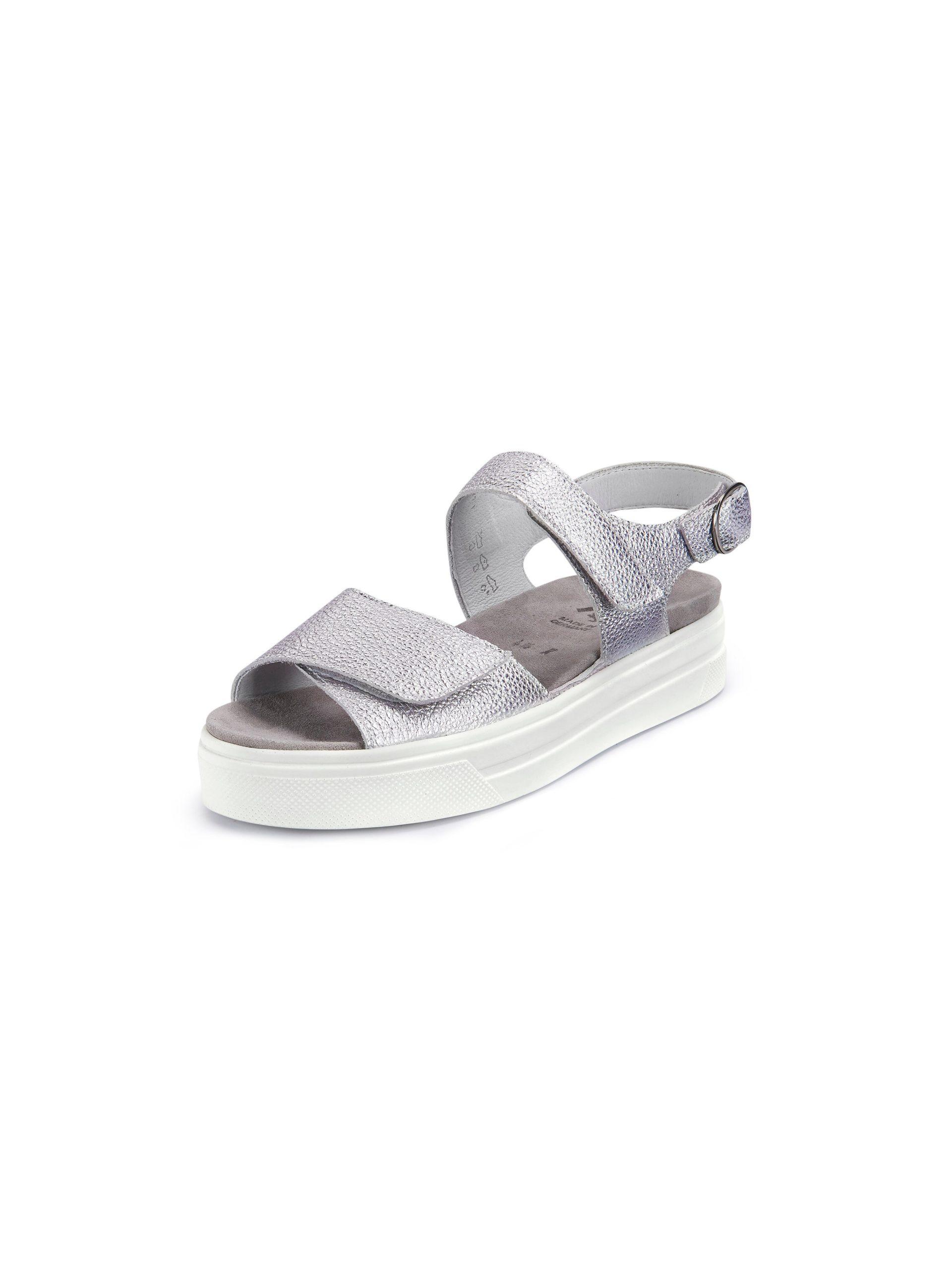 Plateau-sandalen Van Semler zilverkleur Kopen