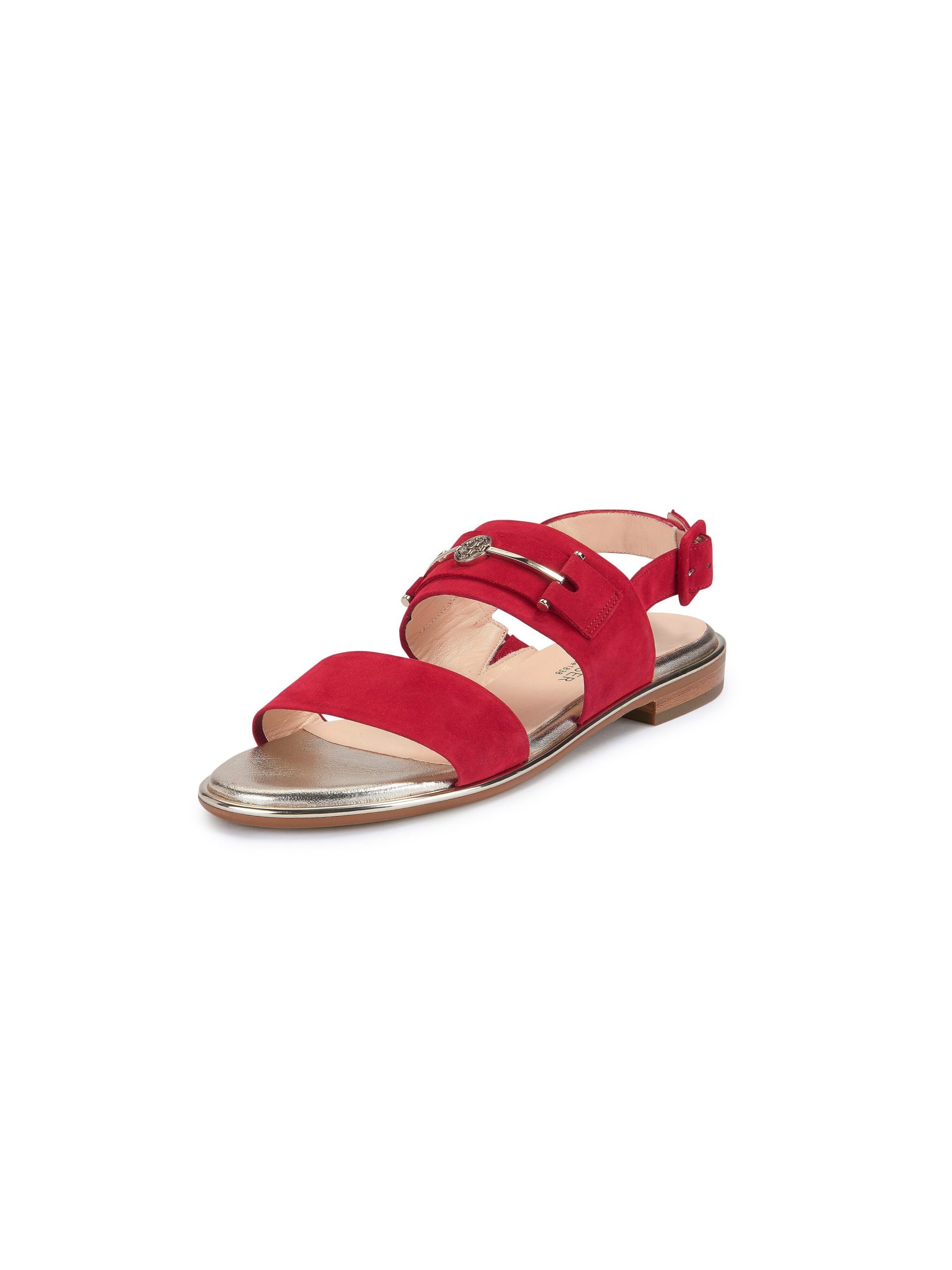Sandalen Van Peter Kaiser rood Kopen