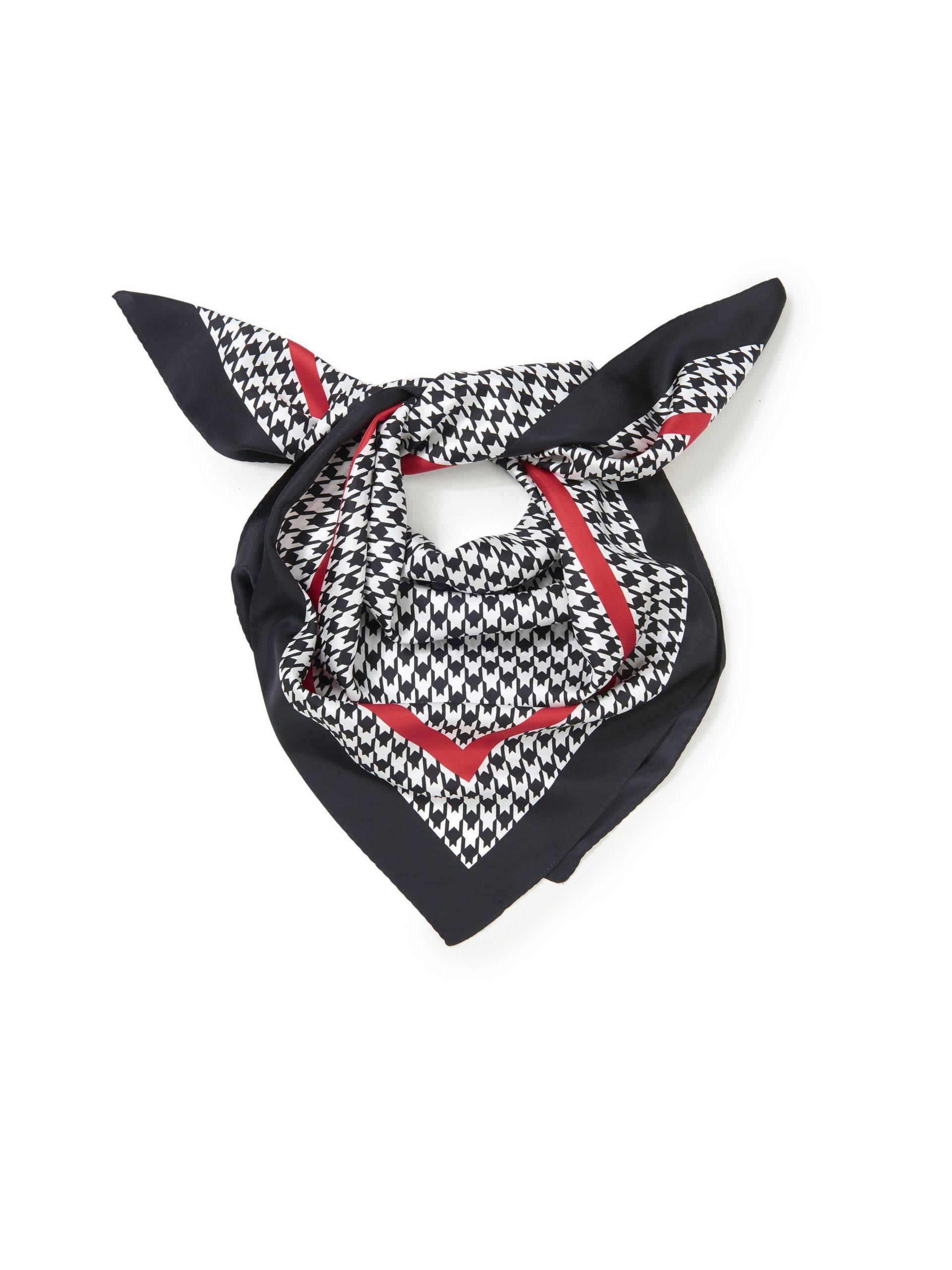 Sjaaltje van 100% zijde Van Anna Aura zwart Kopen