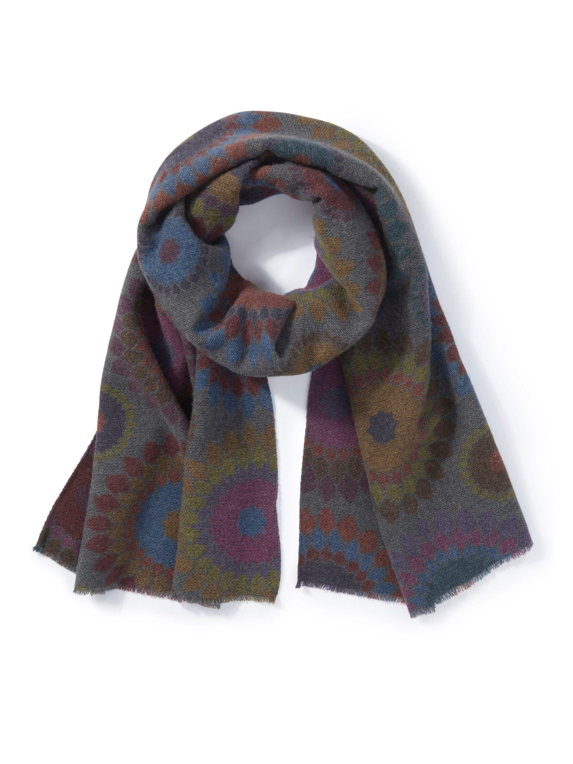 Sjaal Van Peter Hahn multicolour Kopen