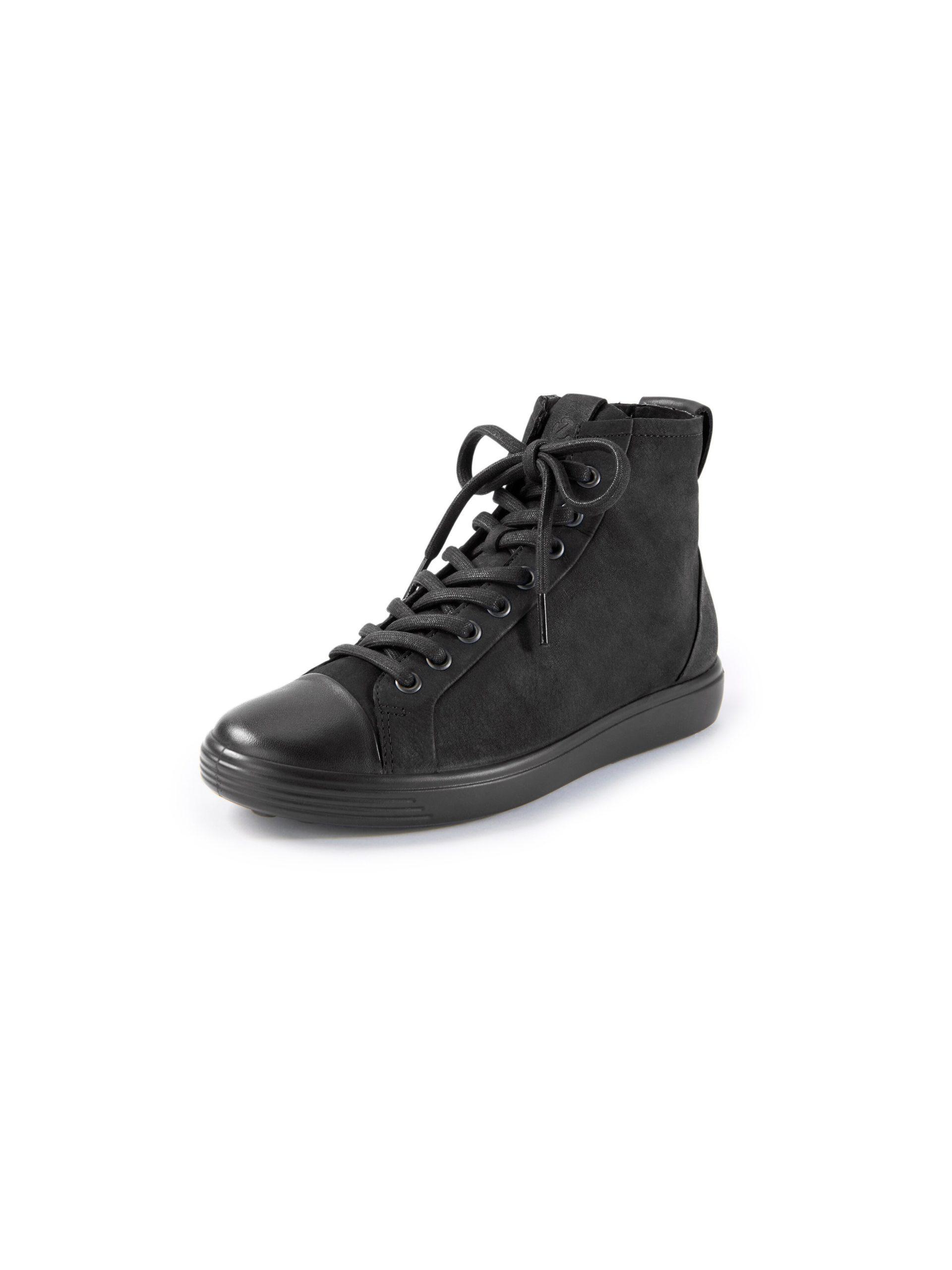 Sneakers model Soft 7 Van Ecco zwart Kopen