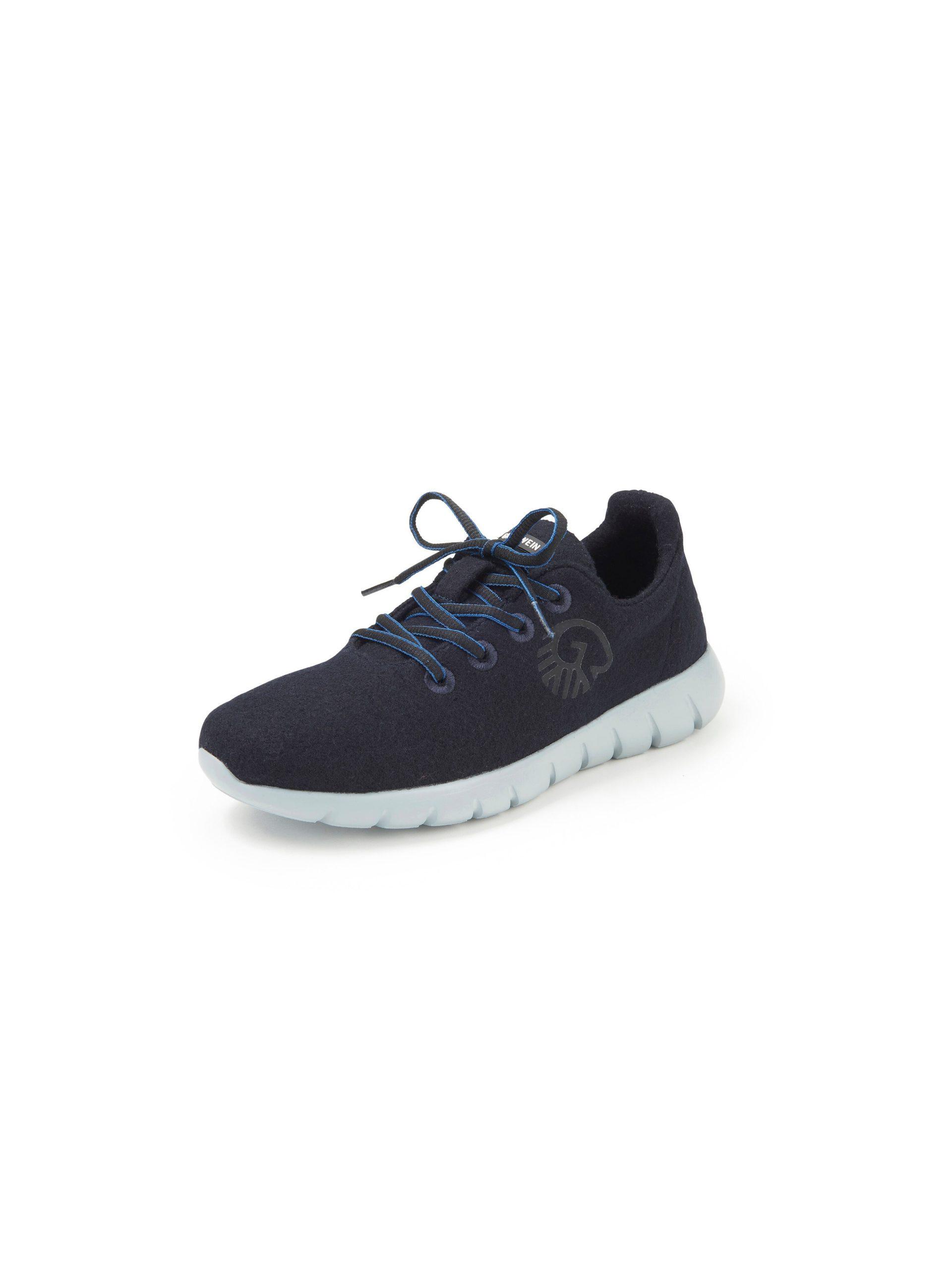 Sneakers model Merino Wool Runners Van Giesswein blauw Kopen