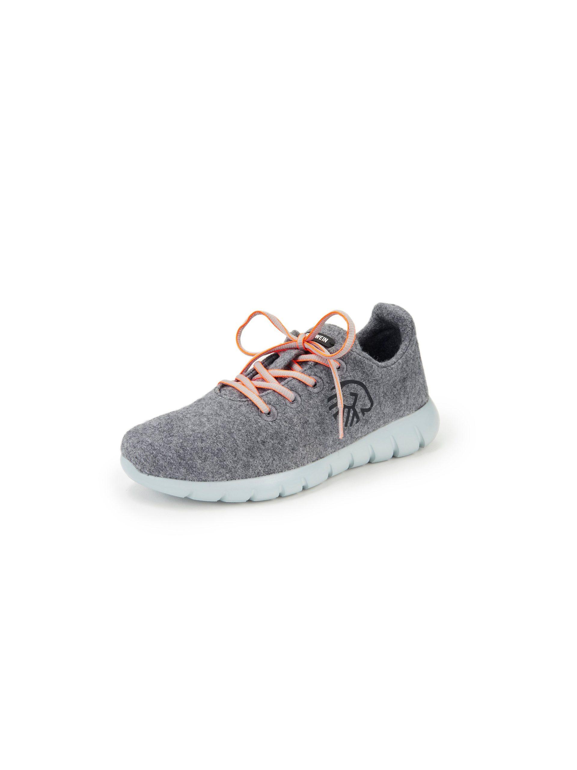 Sneakers model Merino Wool Runners Van Giesswein grijs Kopen