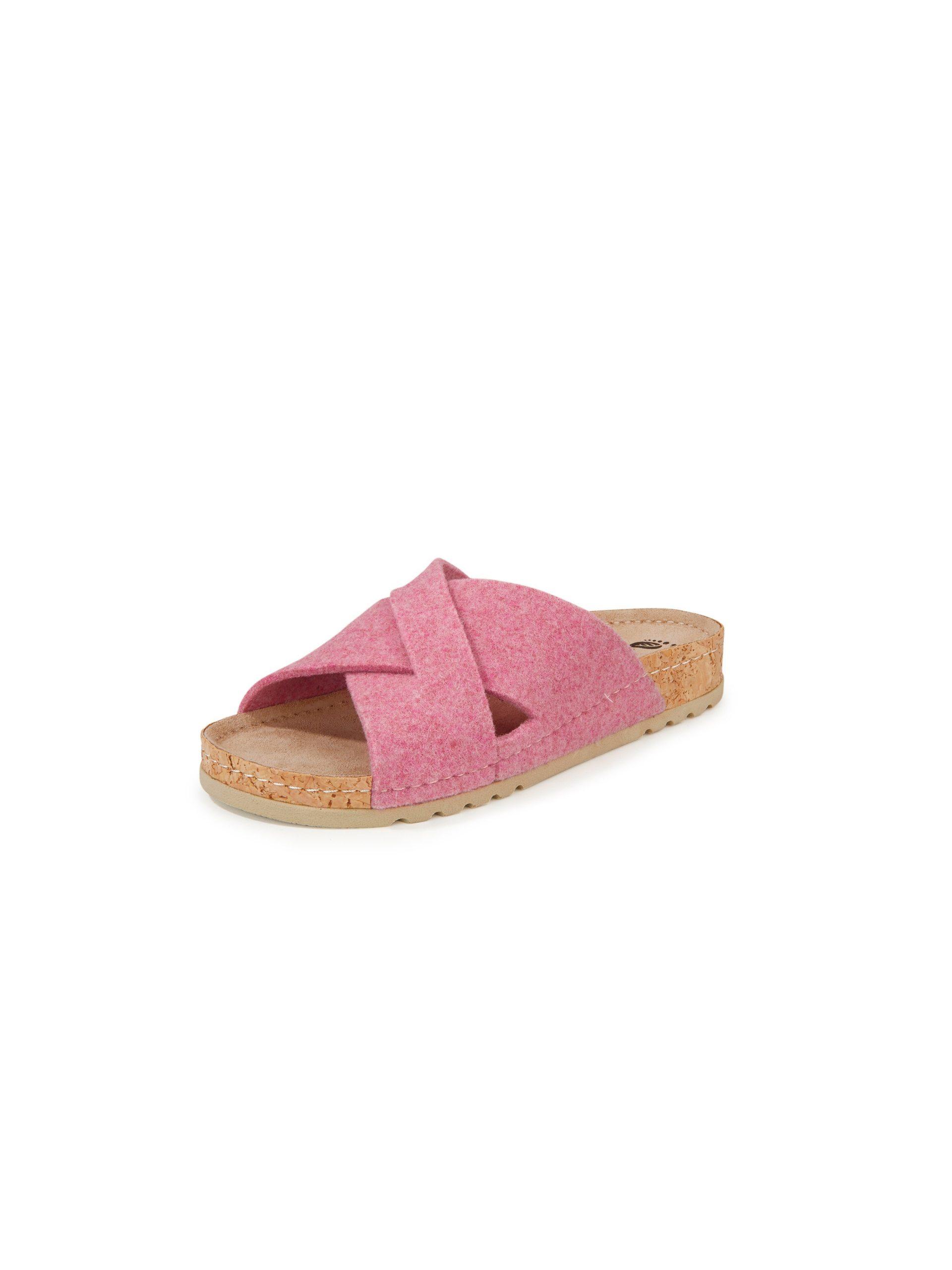 Slippers Van MUBB lichtroze Kopen