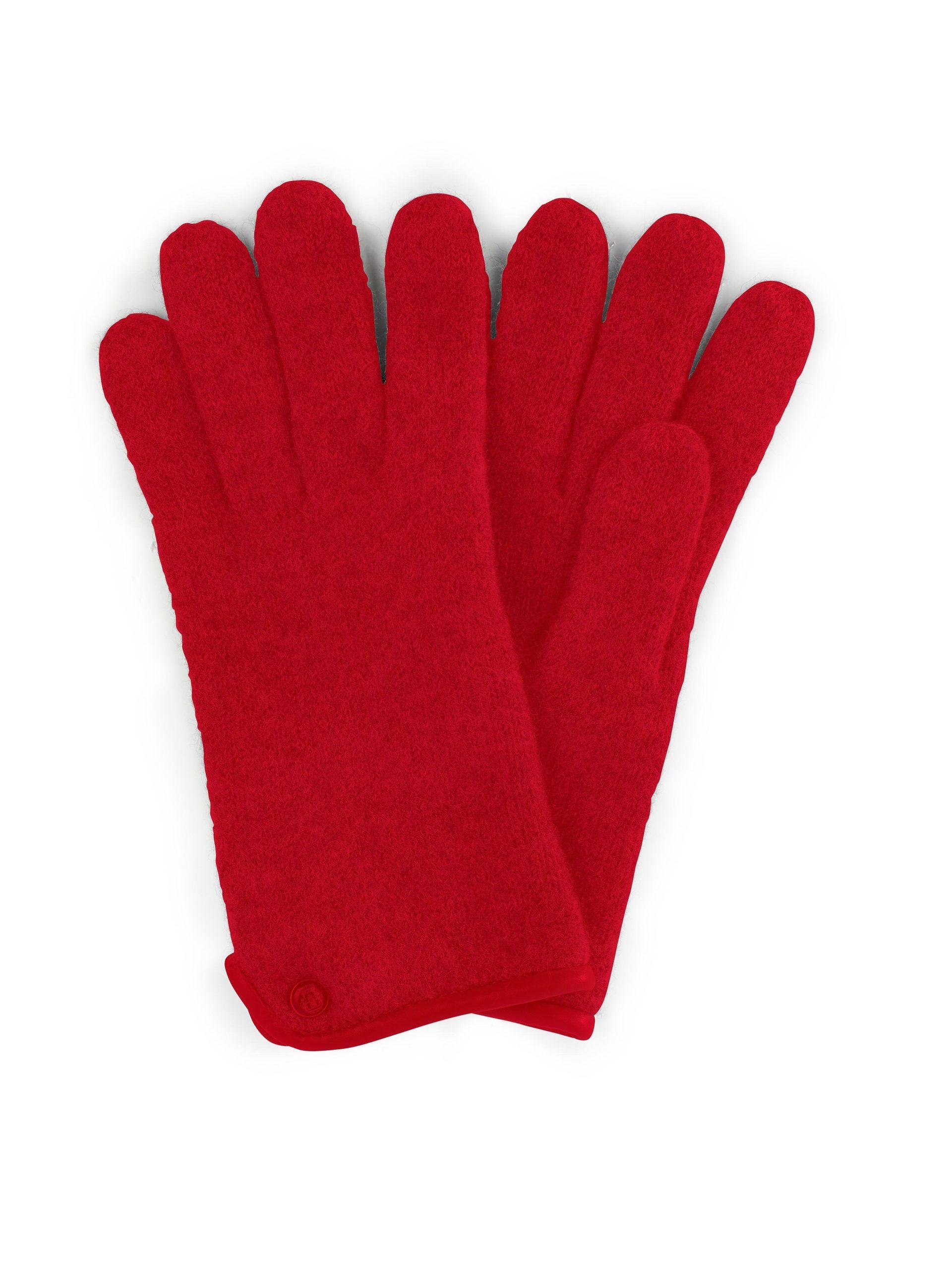 Handschoenen van 100% scheerwol Van Roeckl rood Kopen