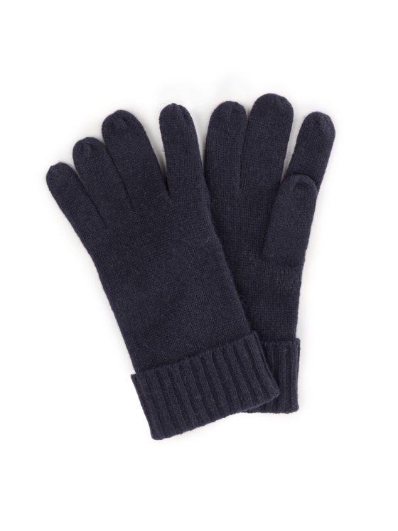 Handschoenen van 100% kasjmier Van Peter Hahn Cashmere blauw Kopen