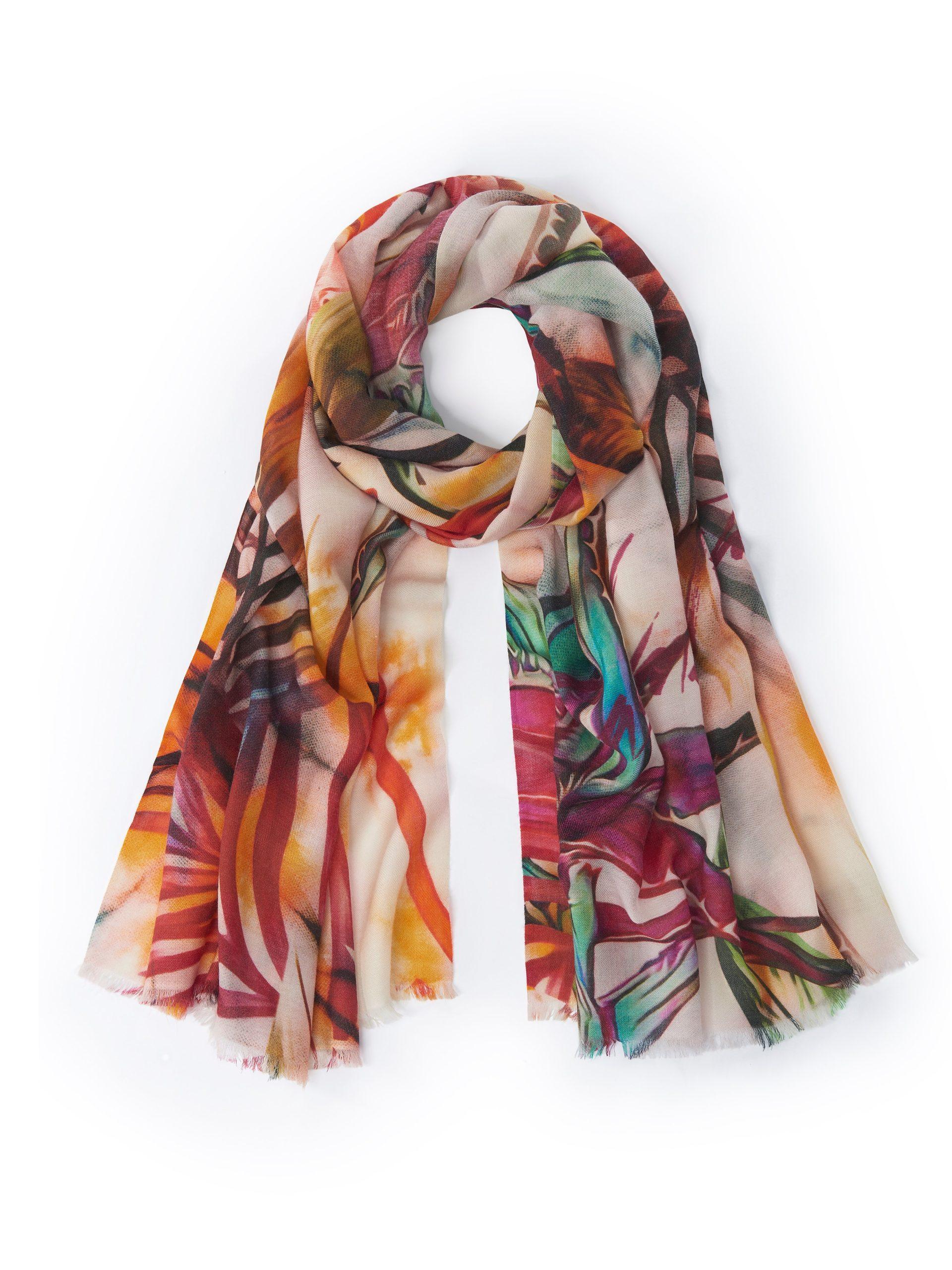 Sjaal van 100% kasjmier Van Cashmere Victim multicolour Kopen