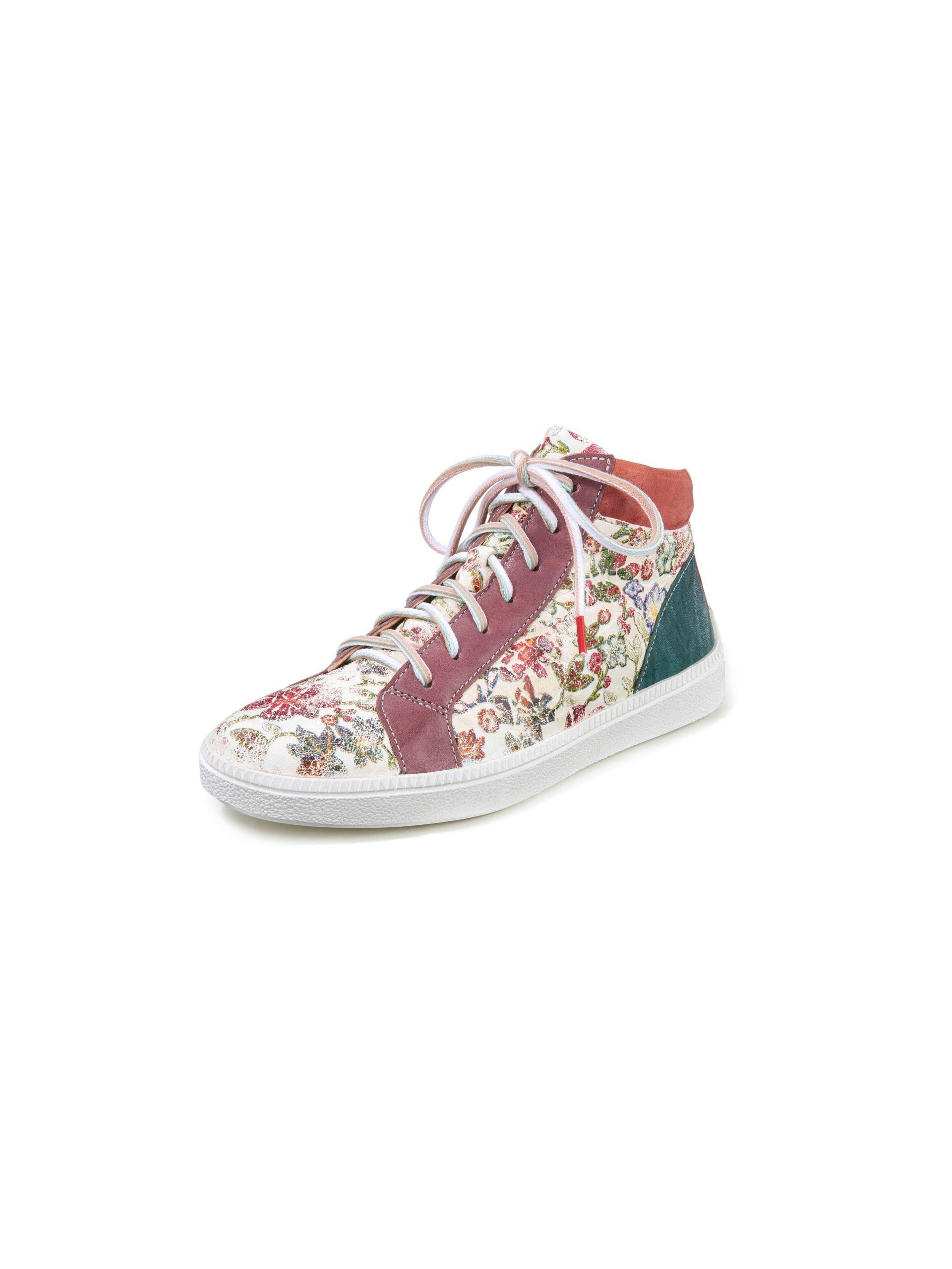 Enkelhoge sneakers Turna van geitennappaleer Van Think! multicolour Kopen