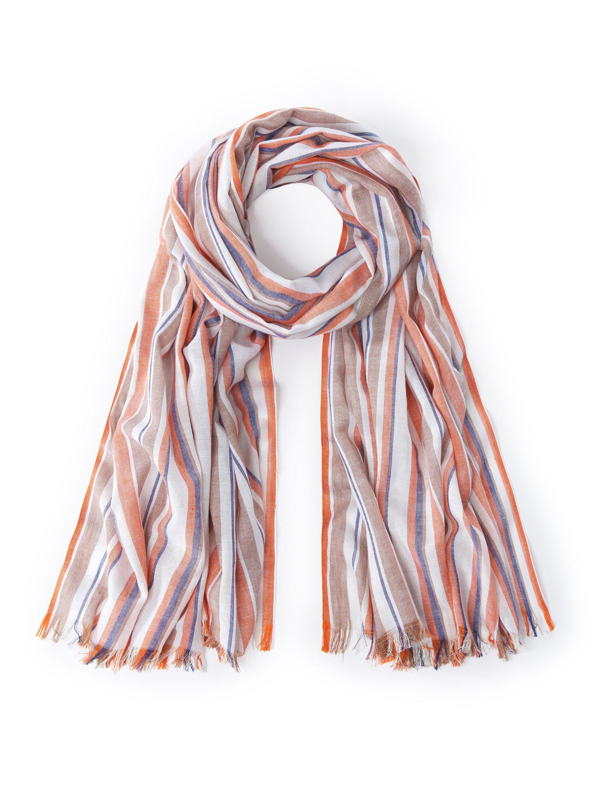 Sjaal van 100% katoen Van MAERZ Muenchen multicolour Kopen