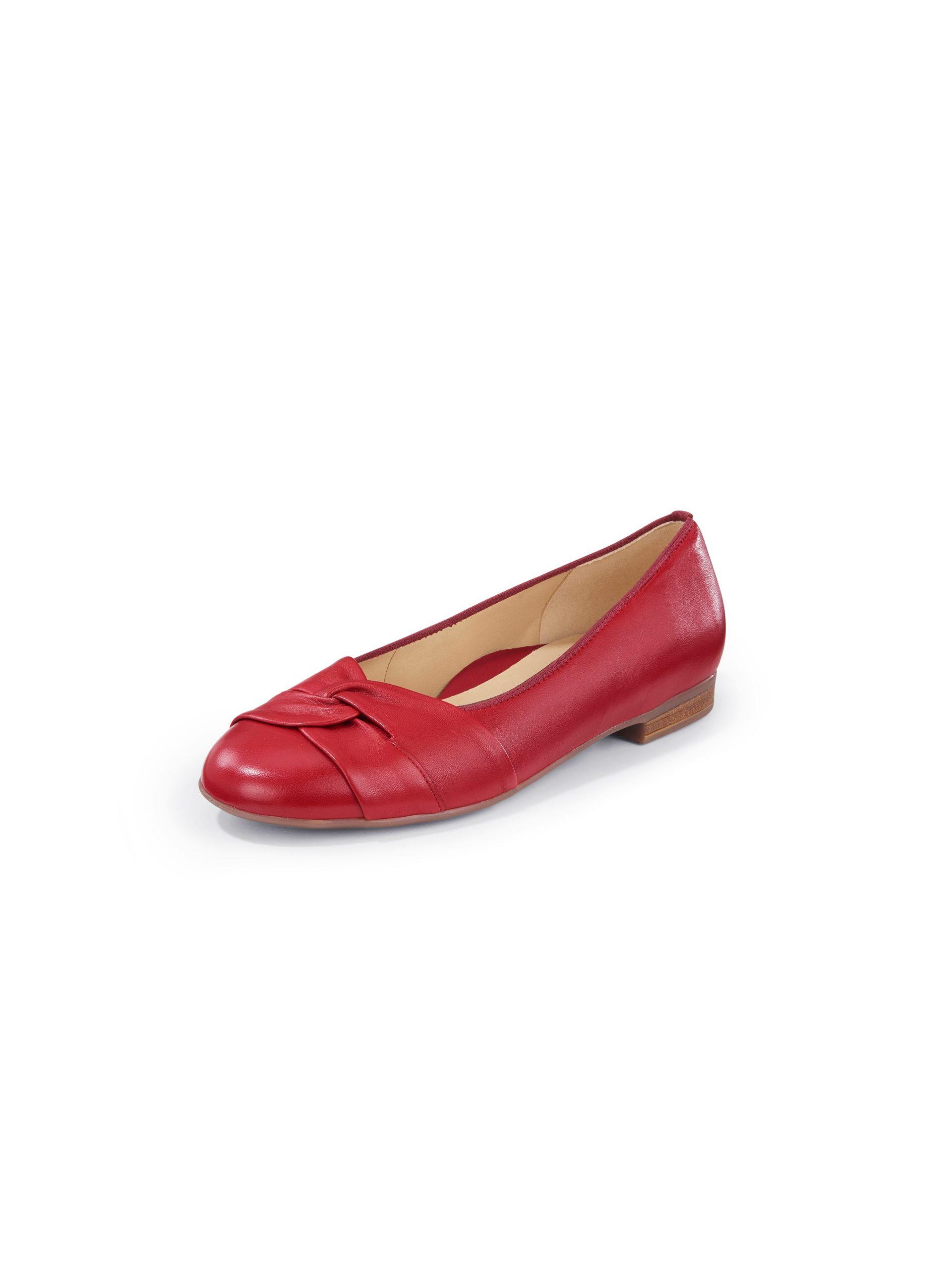 Ballerina's Sardinia HighSoft van kalfsnappaleer Van ARA rood Kopen