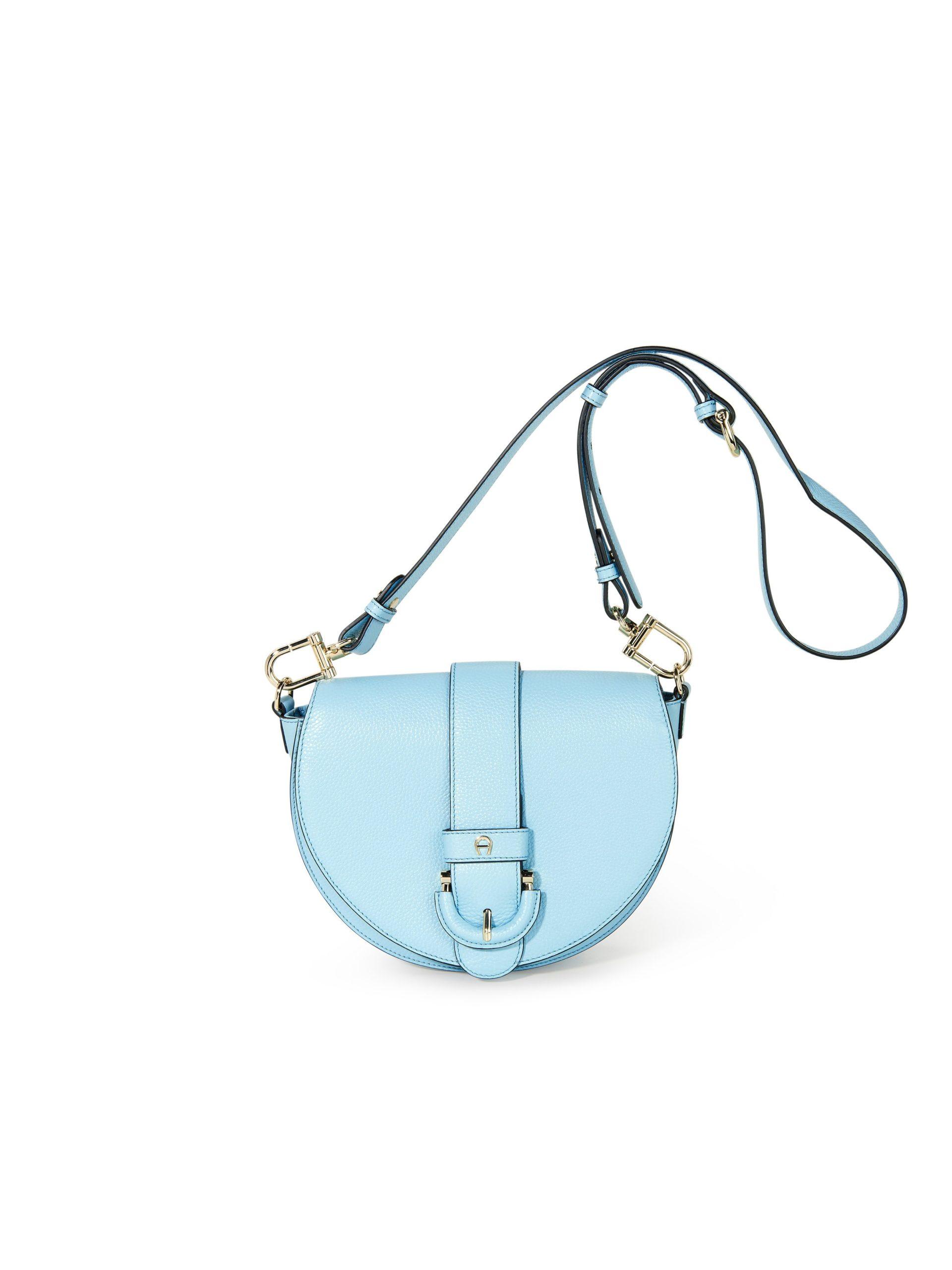 Tas Kira van rundleer Van Aigner blauw Kopen