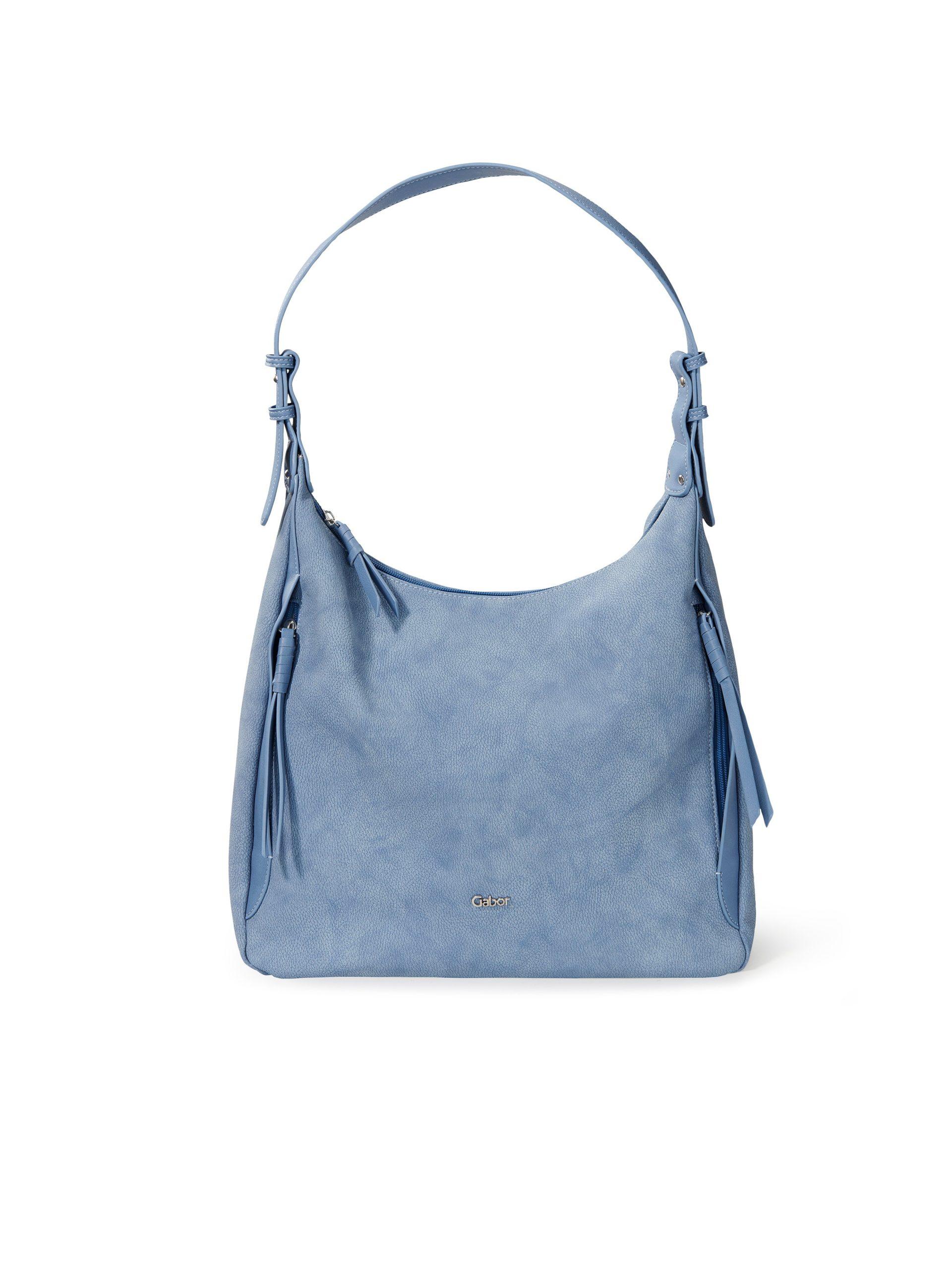Tas met handvat Van Gabor Bags blauw Kopen