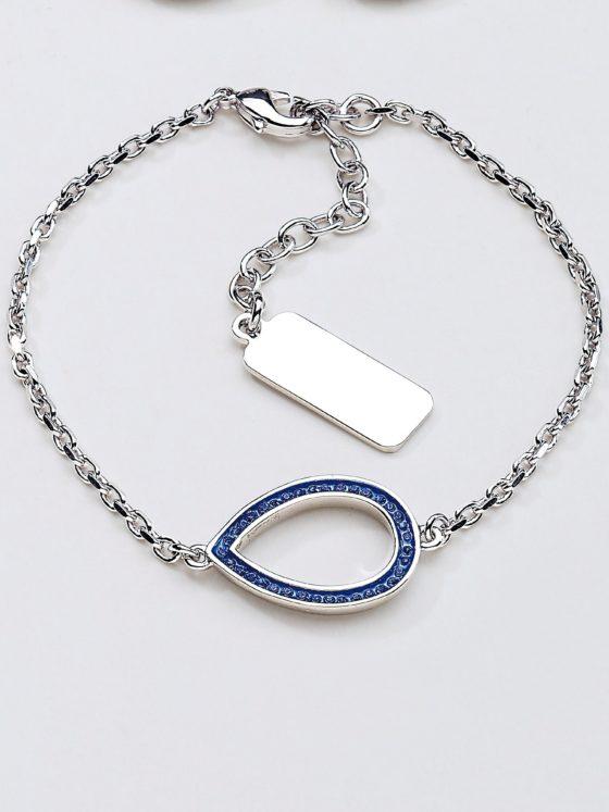Armband met kristallen van Swarovski® Van Uta Raasch zilverkleur Kopen