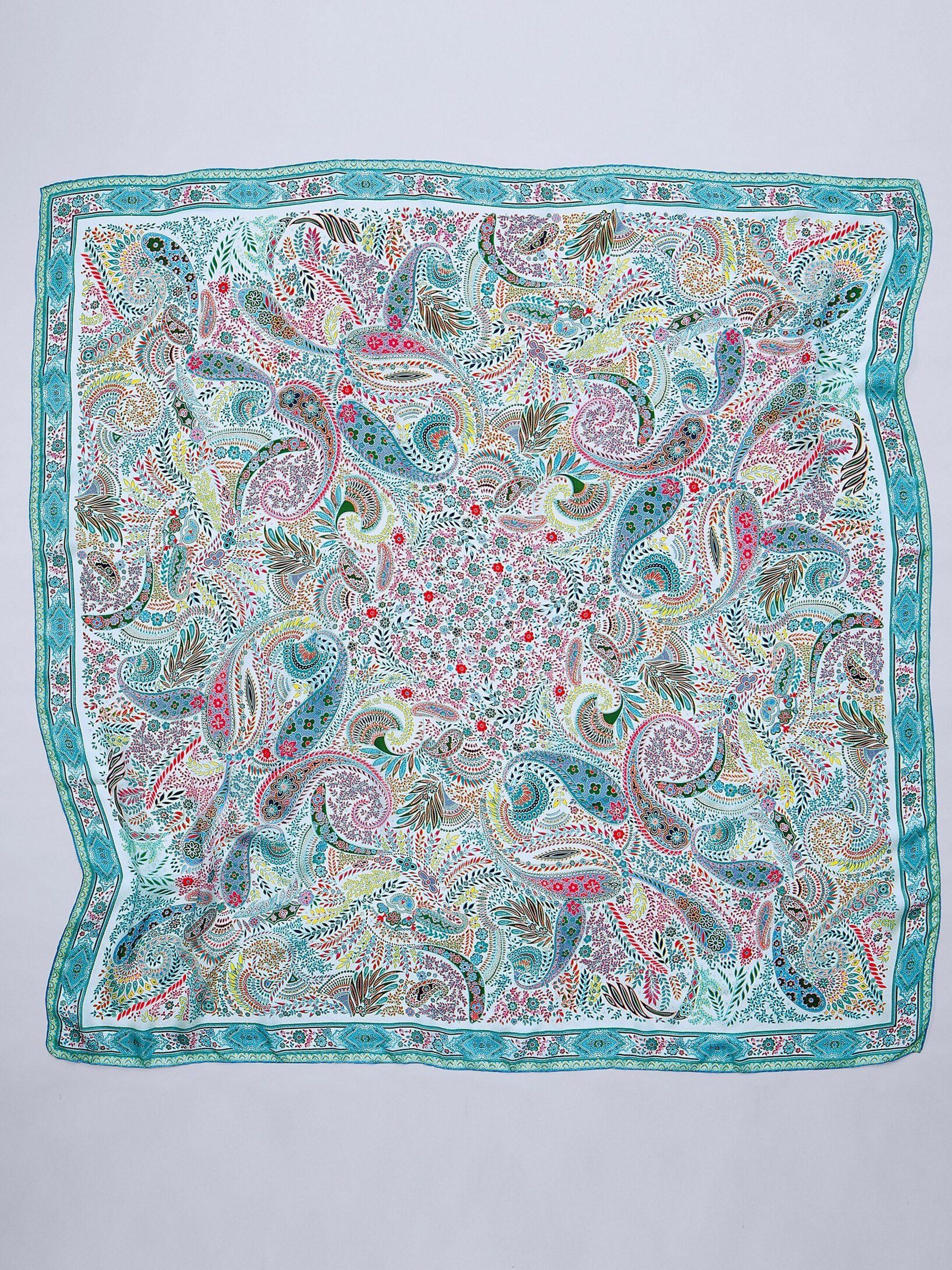 Sjaaltje van 100% zijde Van Roeckl multicolour Kopen