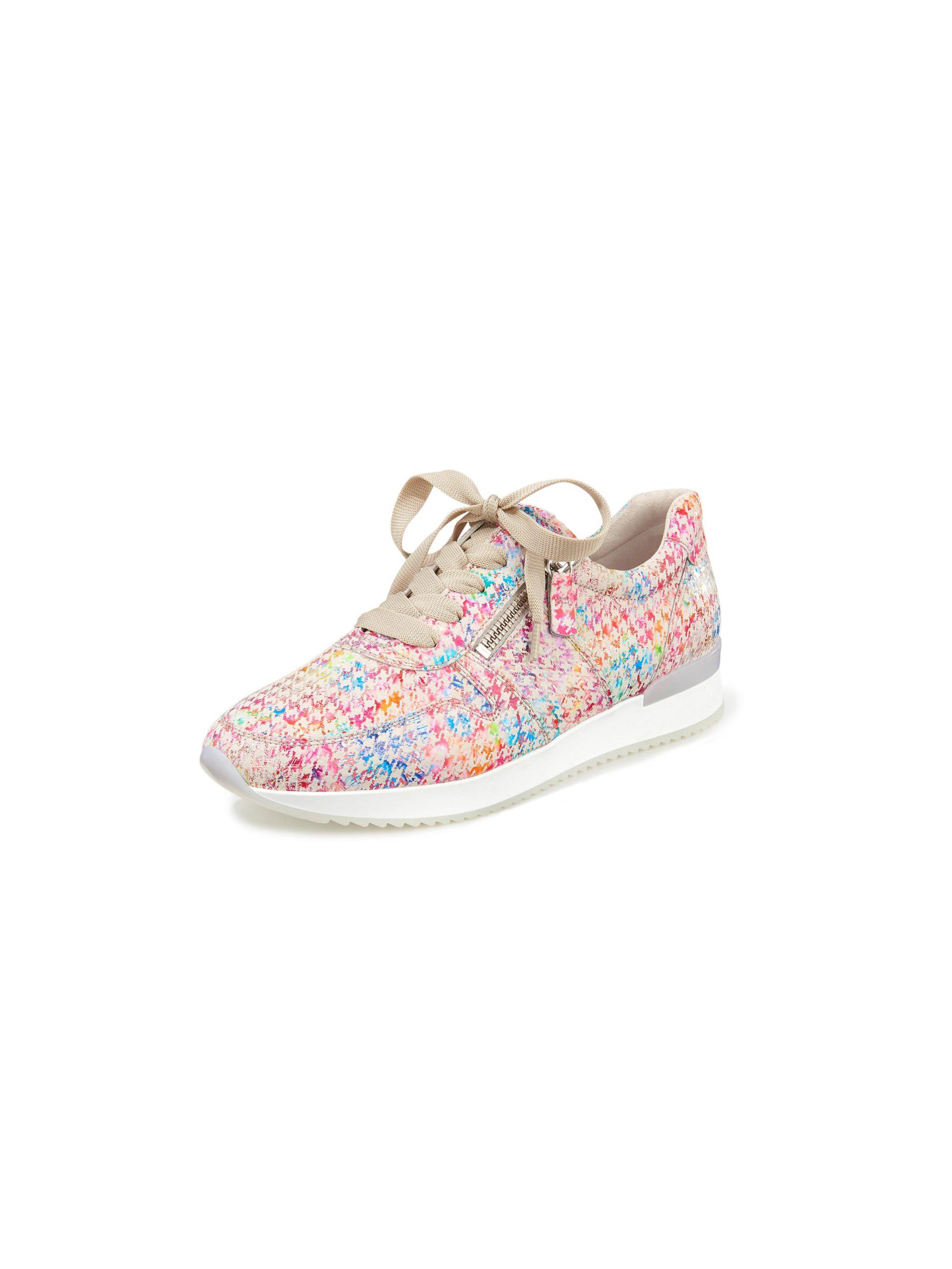 Sneakers van geitensuèdeleer Van Gabor multicolour Kopen