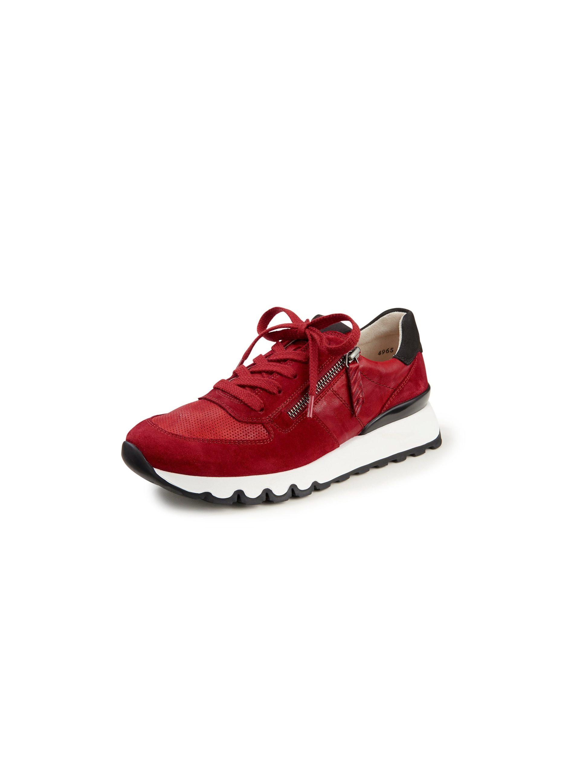 Sneakers van leer Van Paul Green rood Kopen