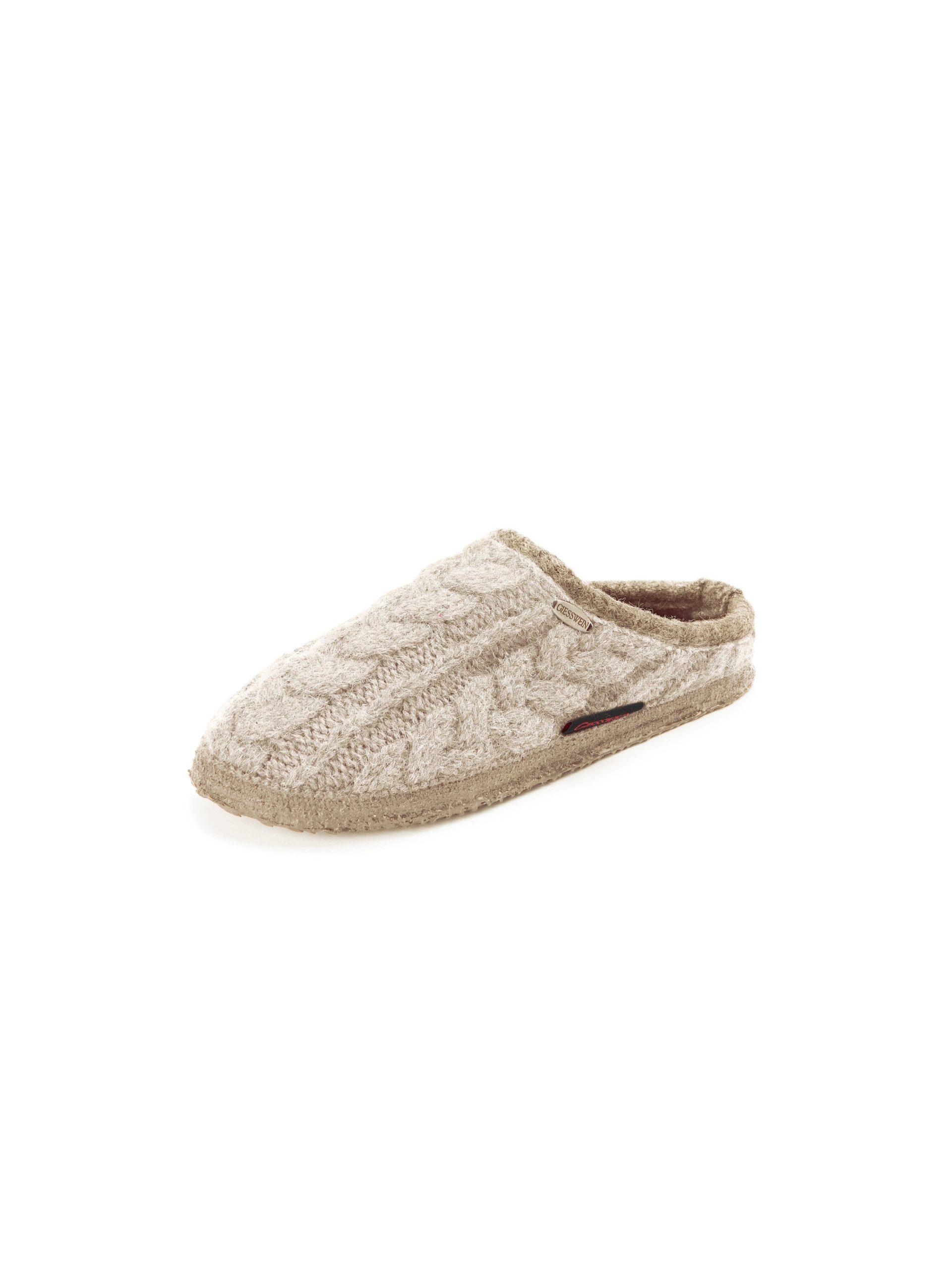 Pantoffels Van Giesswein beige Kopen