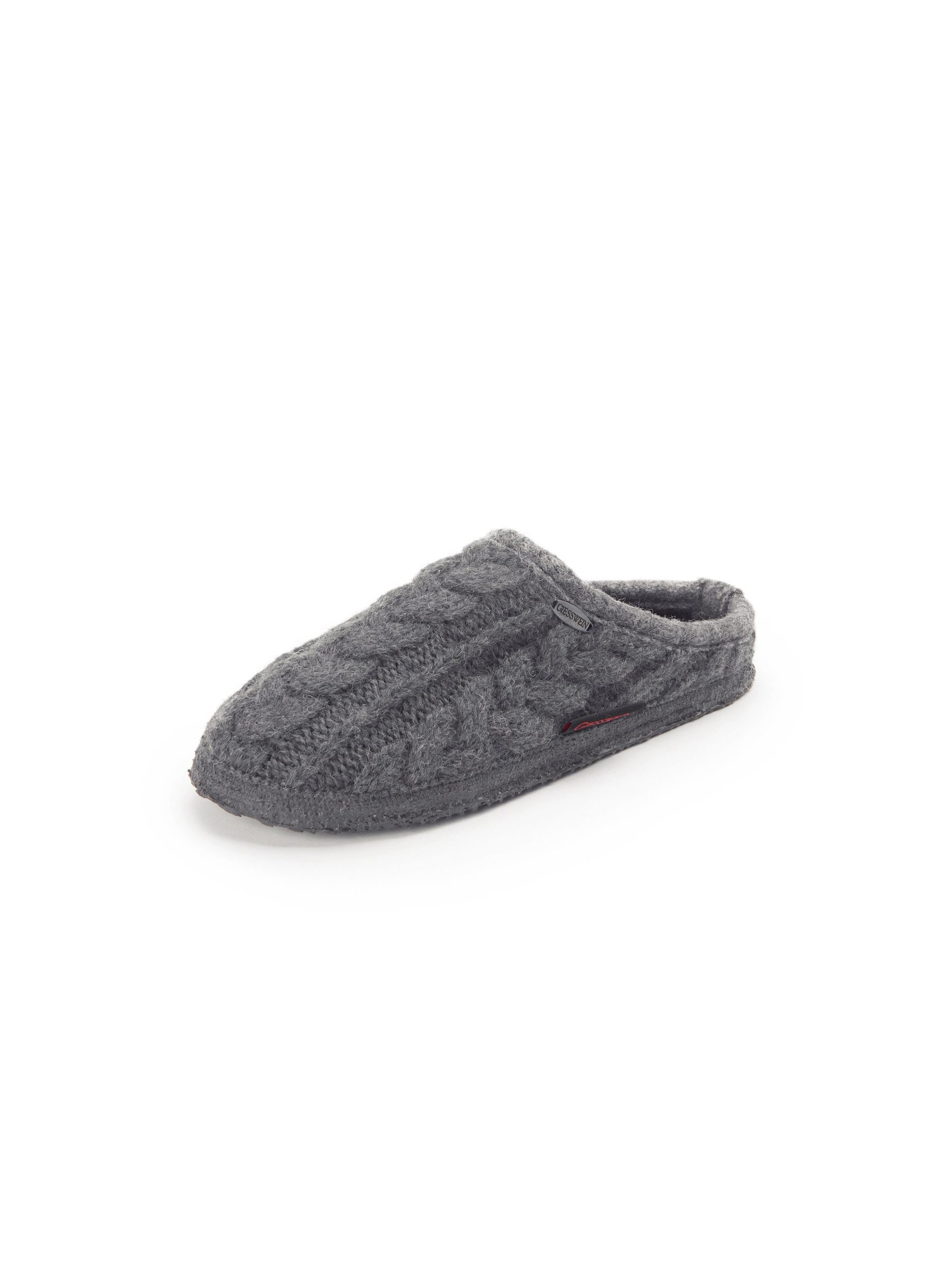 Pantoffels Van Giesswein grijs Kopen