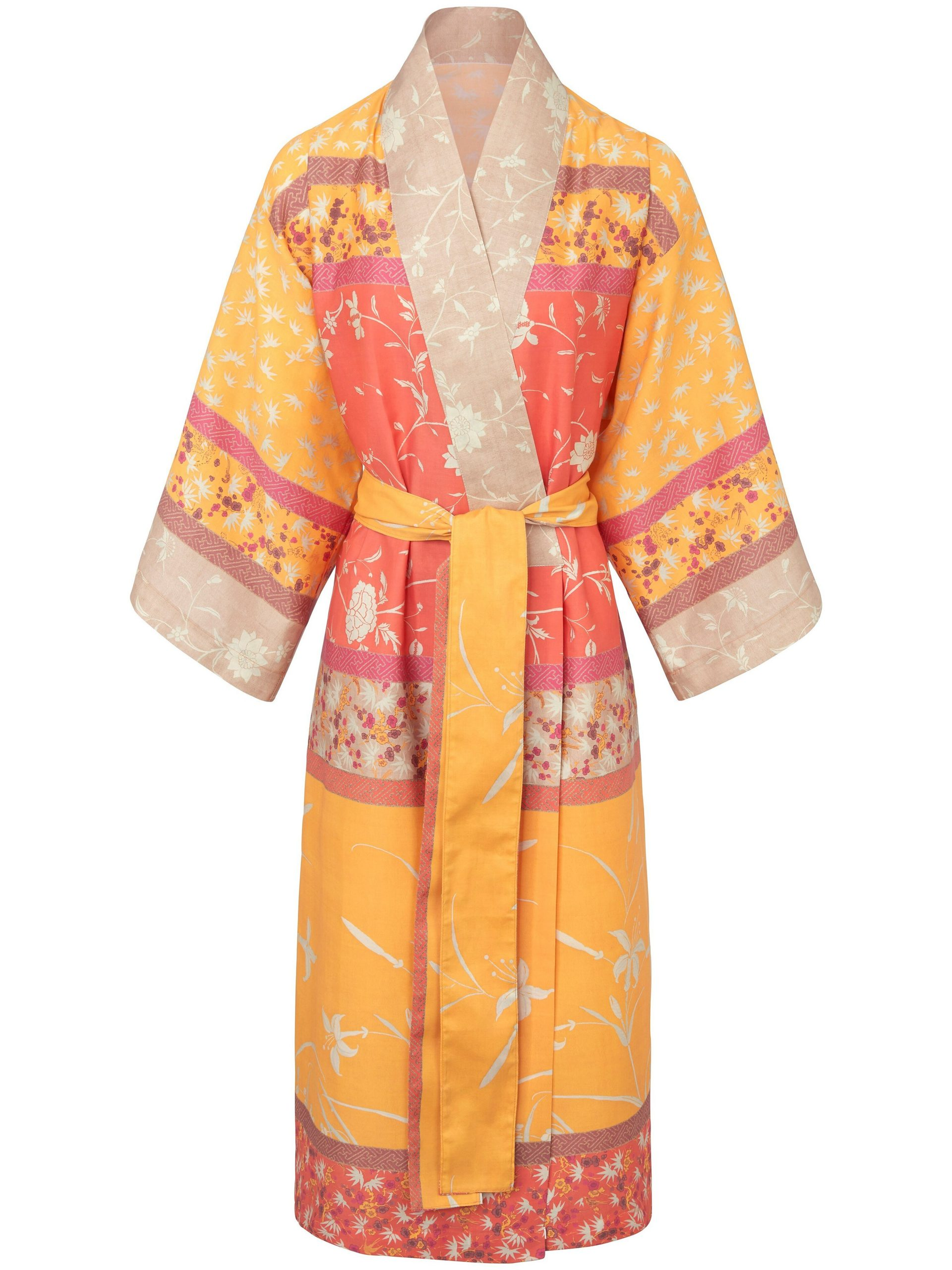 Kimono Van Bassetti oranje Kopen