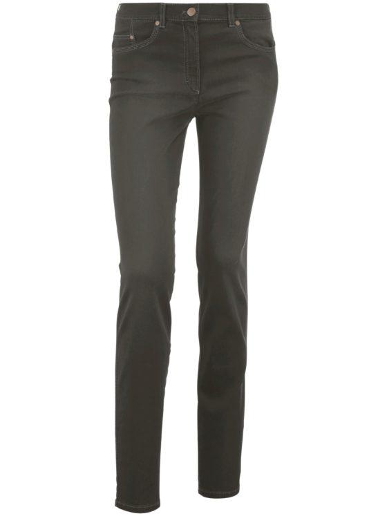 Modellerende Comfort Plus-jeans model Caren Van Raphaela by Brax groen Kopen