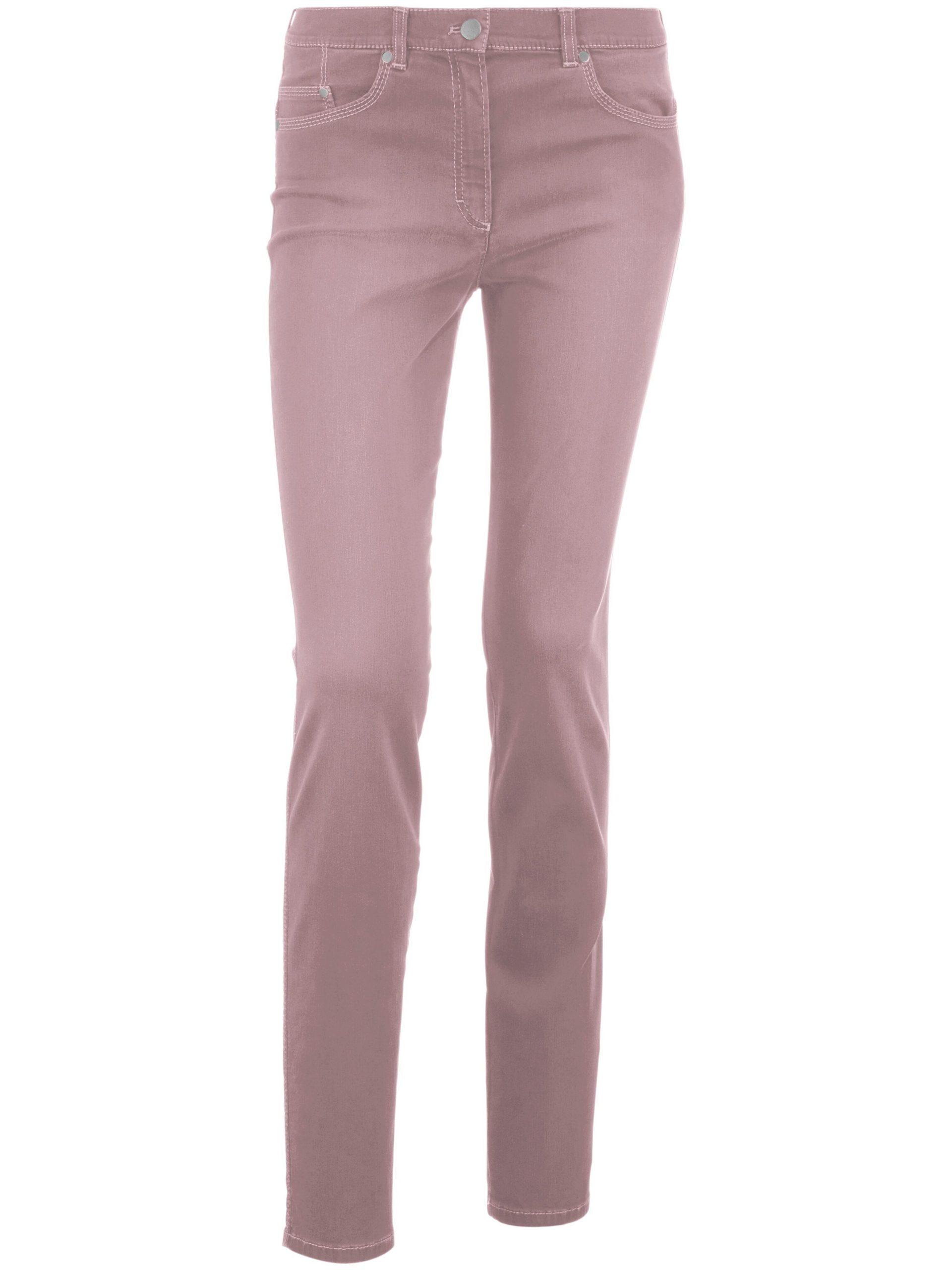 Corrigerende Comfort Plus-jeans model Caren Van Raphaela by Brax paars Kopen