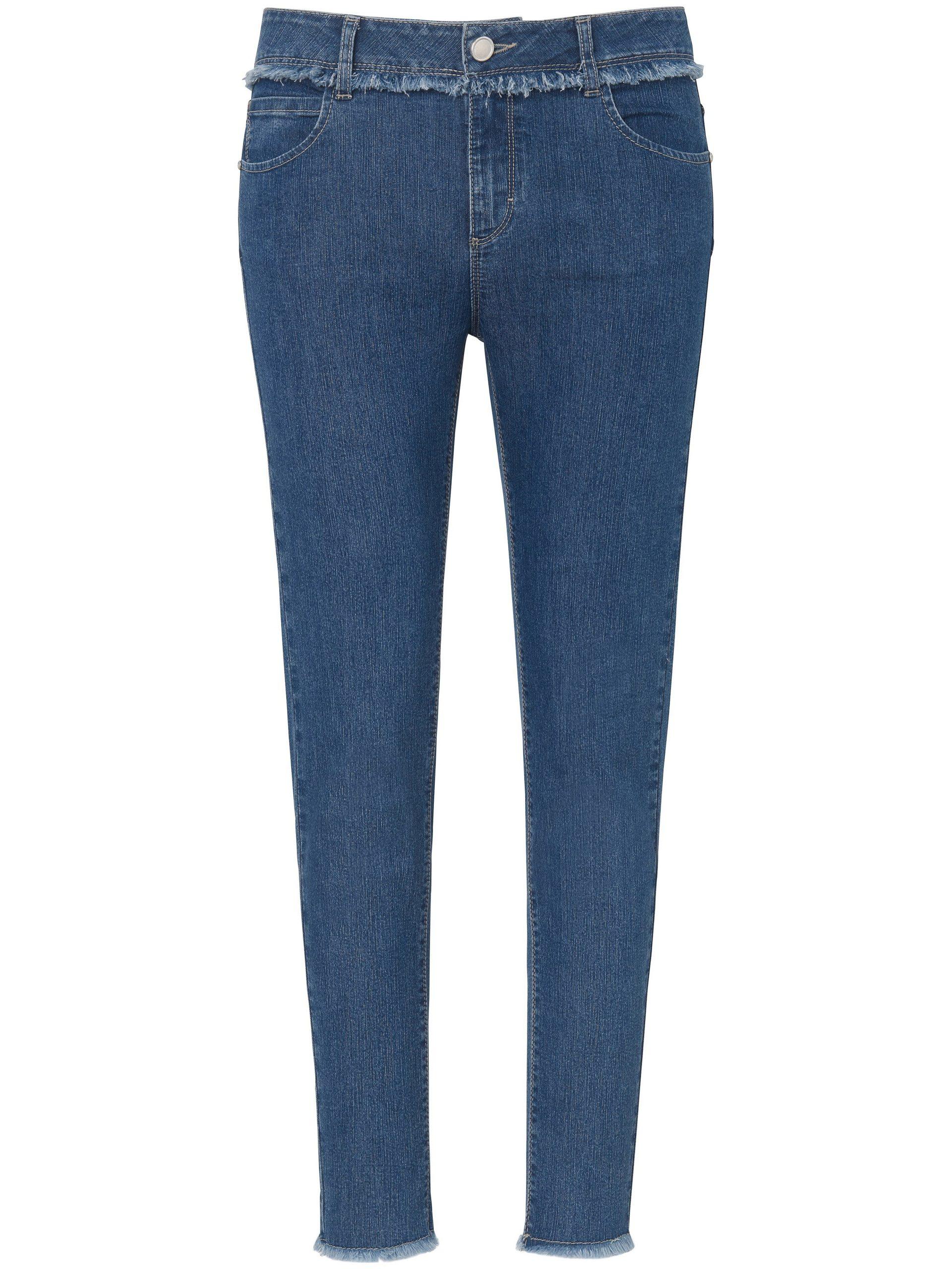 Enkellange Slim Fit-jeans Van DAY.LIKE denim Kopen