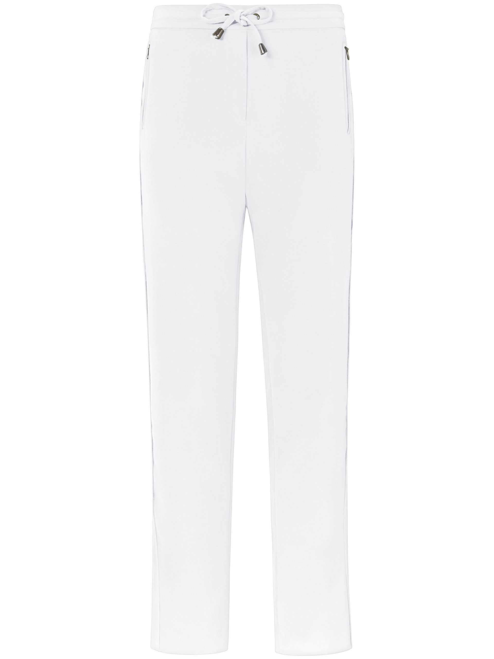 Enkellange broek in jogg-pant-stijl Van DAY.LIKE wit Kopen