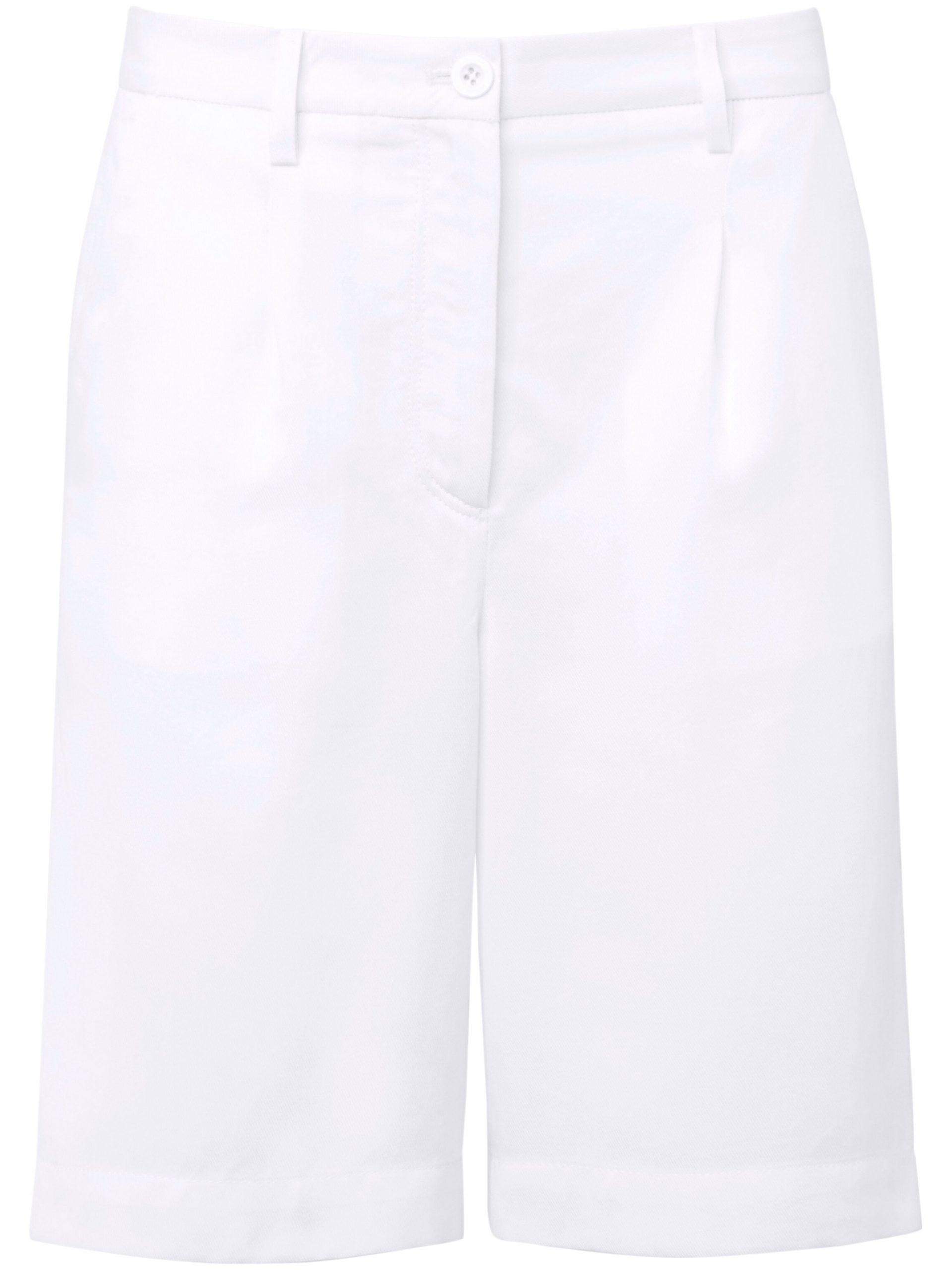 City-short van soepelvallend weefsel Van DAY.LIKE wit Kopen