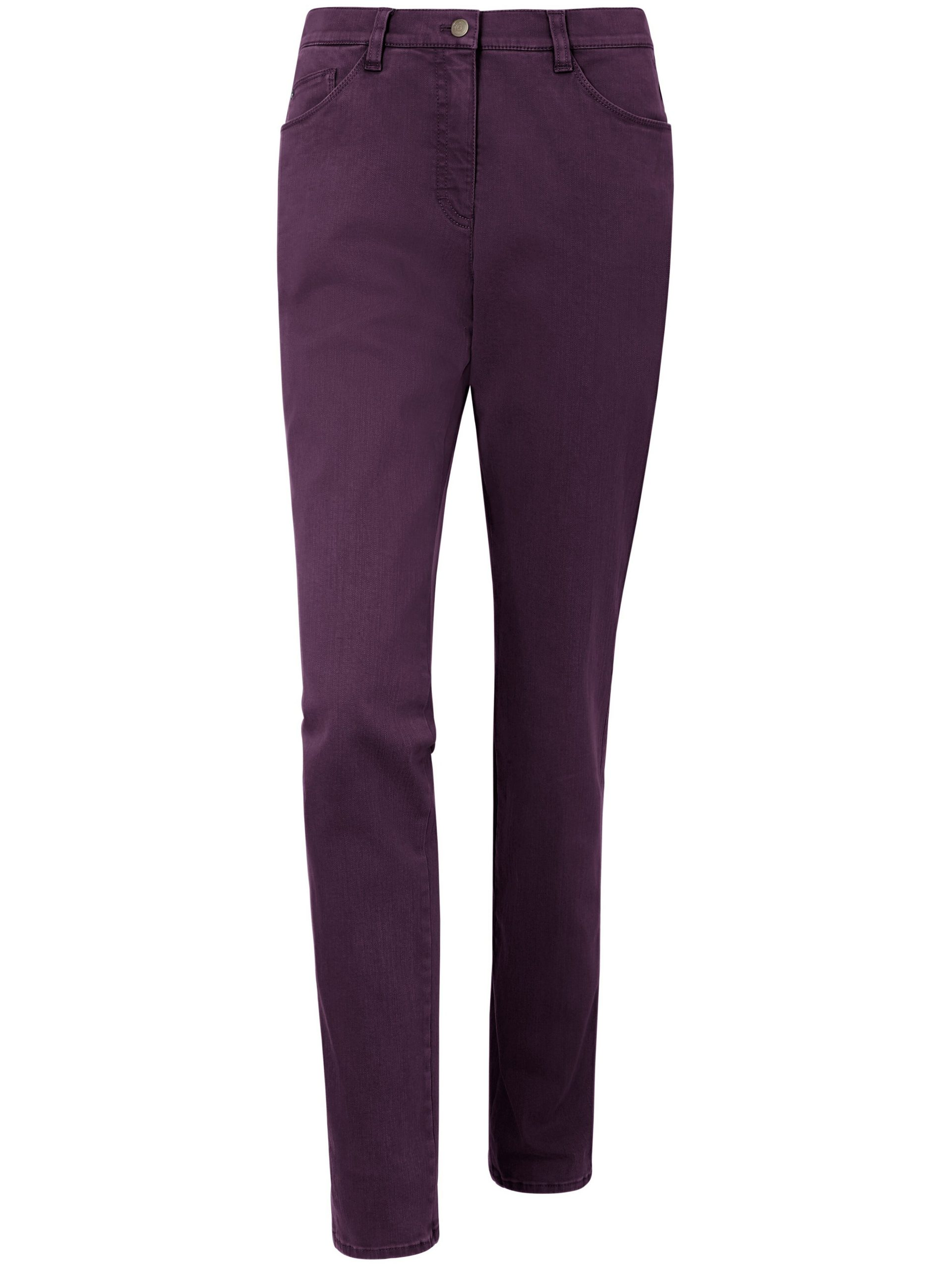 Jeans, model Mary Van Brax Feel Good paars Kopen