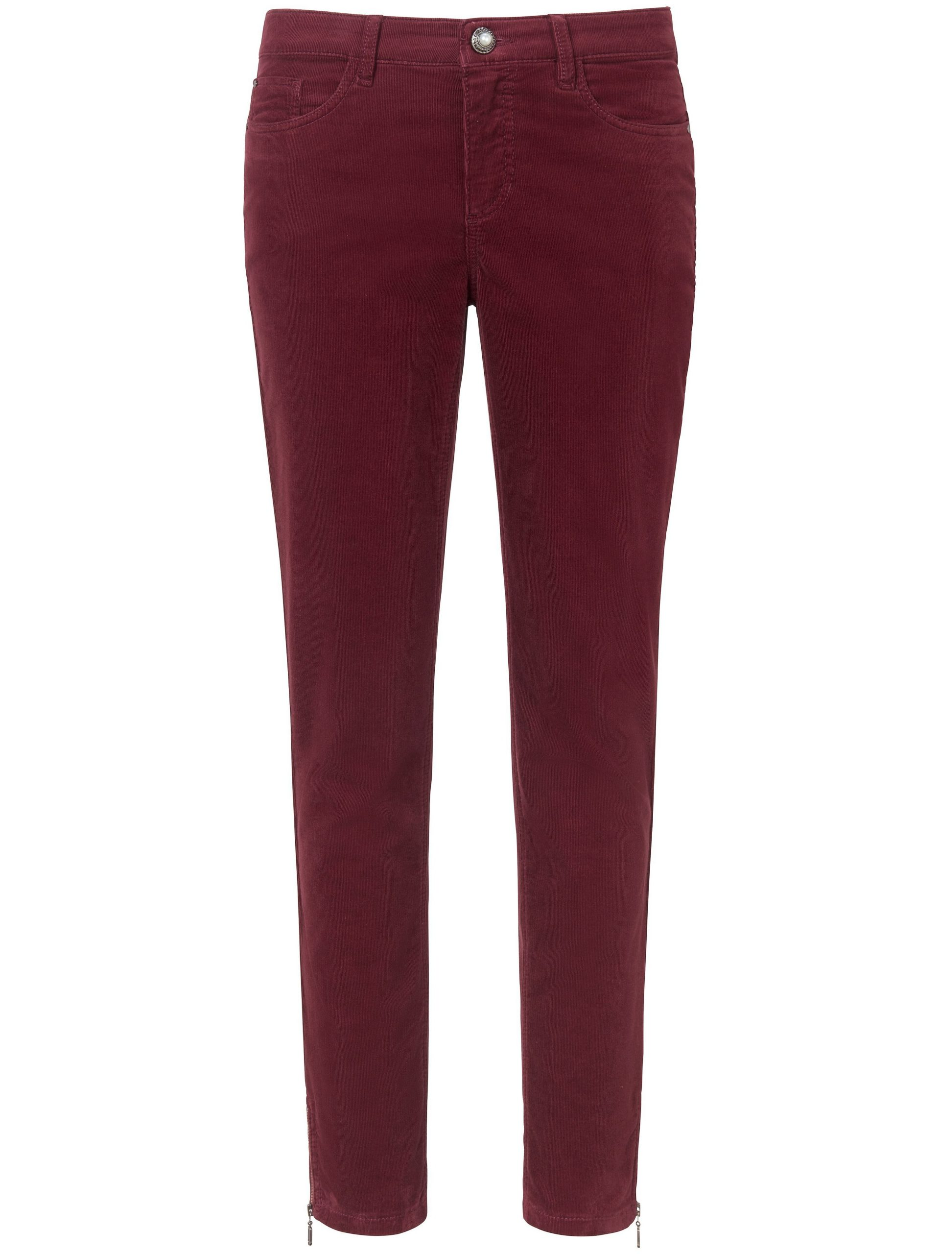 Fijncord-broek Van Peter Hahn rood Kopen